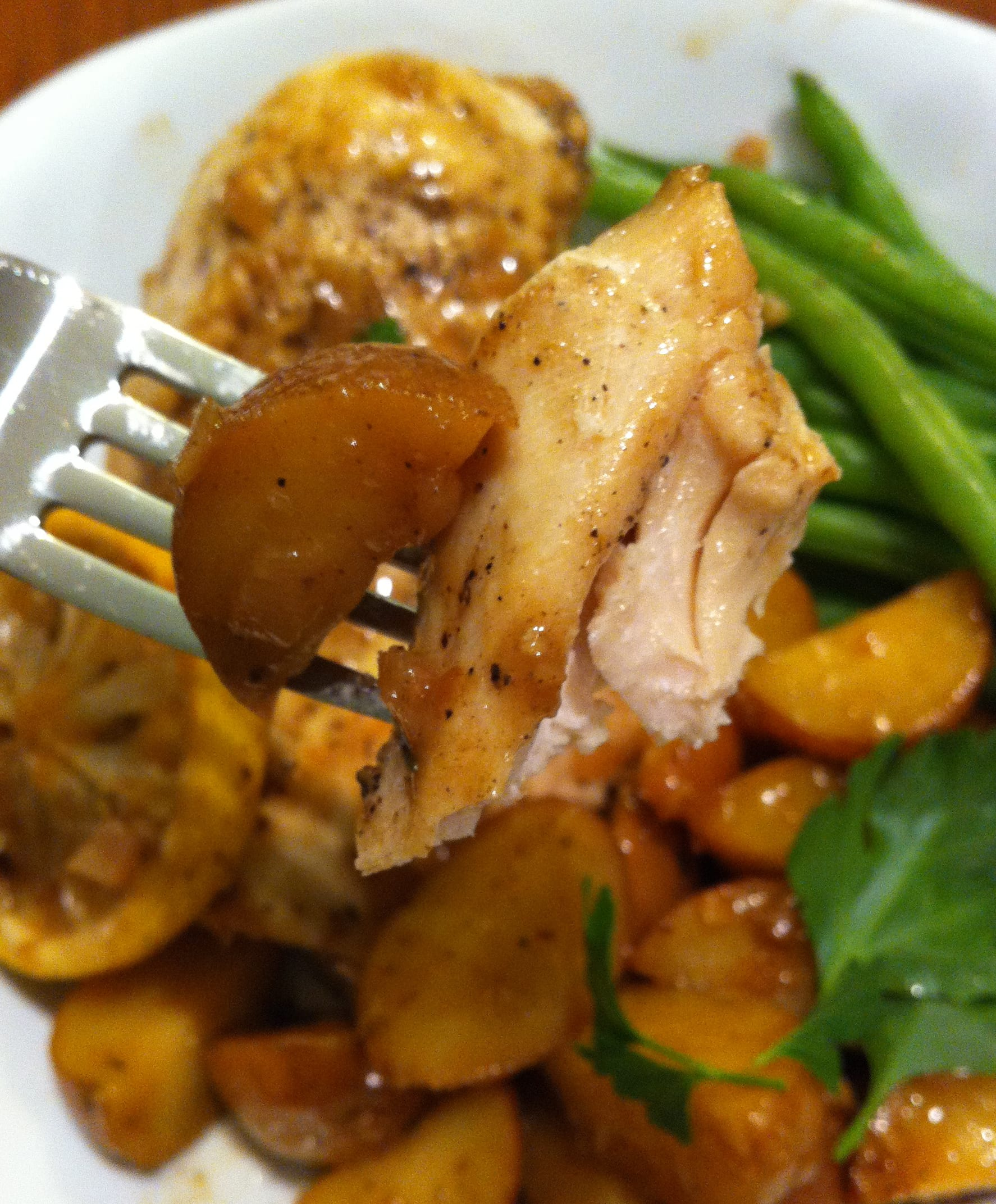 Meyer Lemon Chicken With Baby Potatoes And Castelvetrano Olives ...