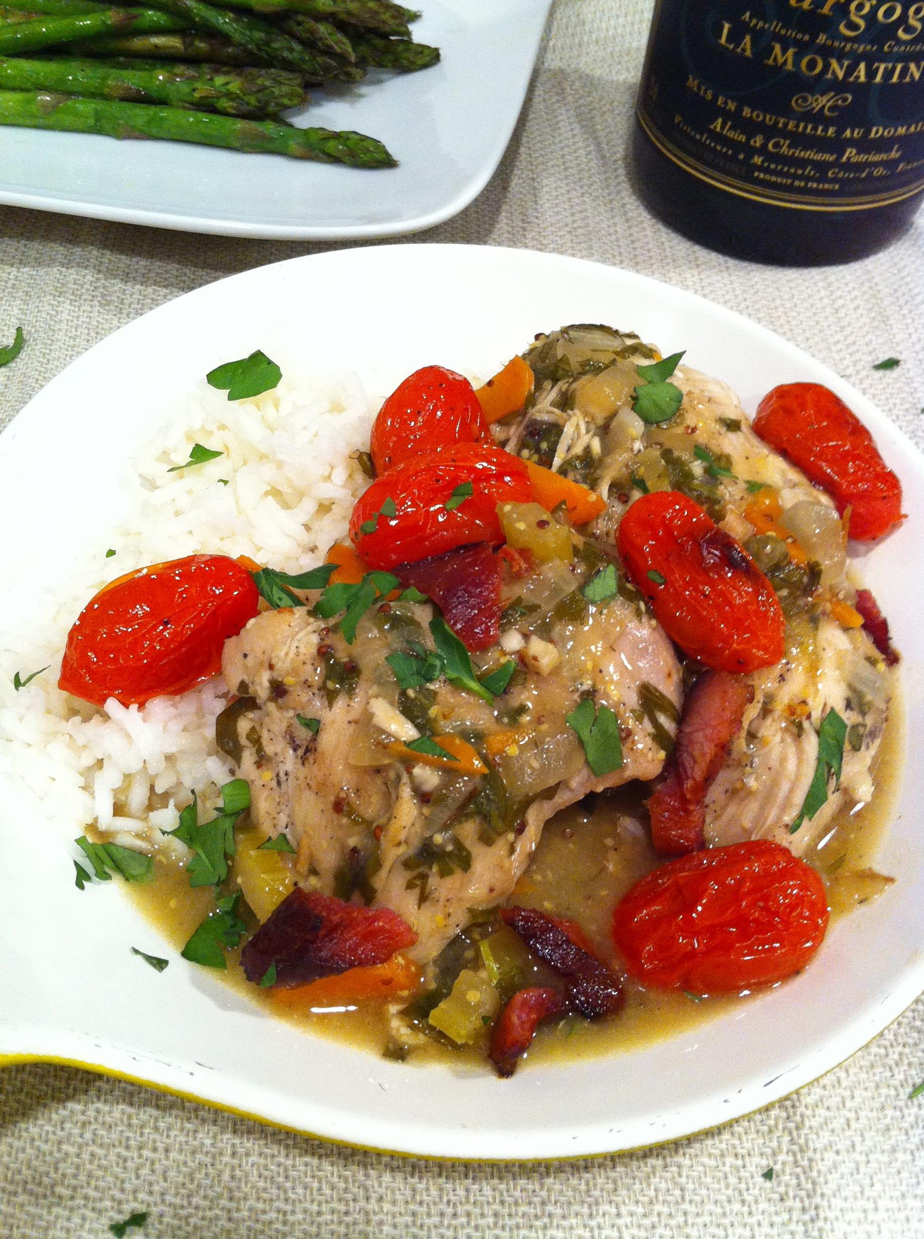 Chicken in Wine Sauce - American Heritage Cooking