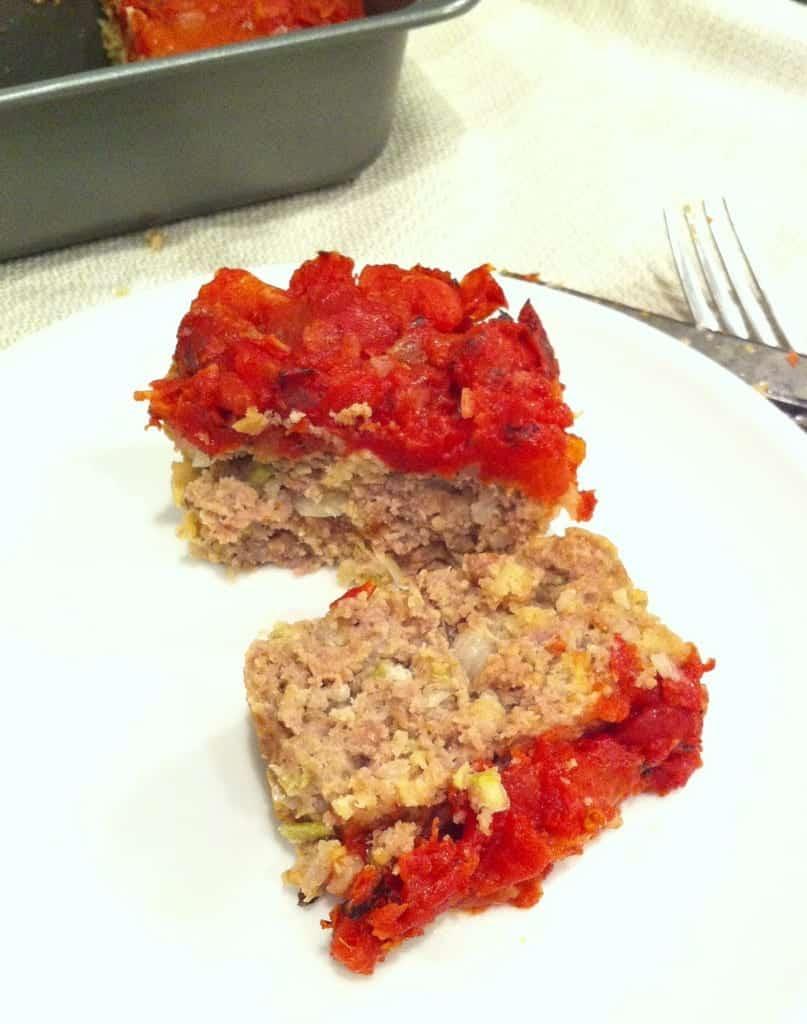 An improptu meatloaf!