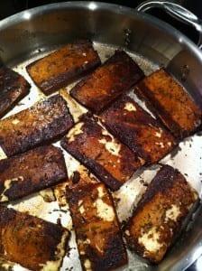 Seared Marinated Tofu