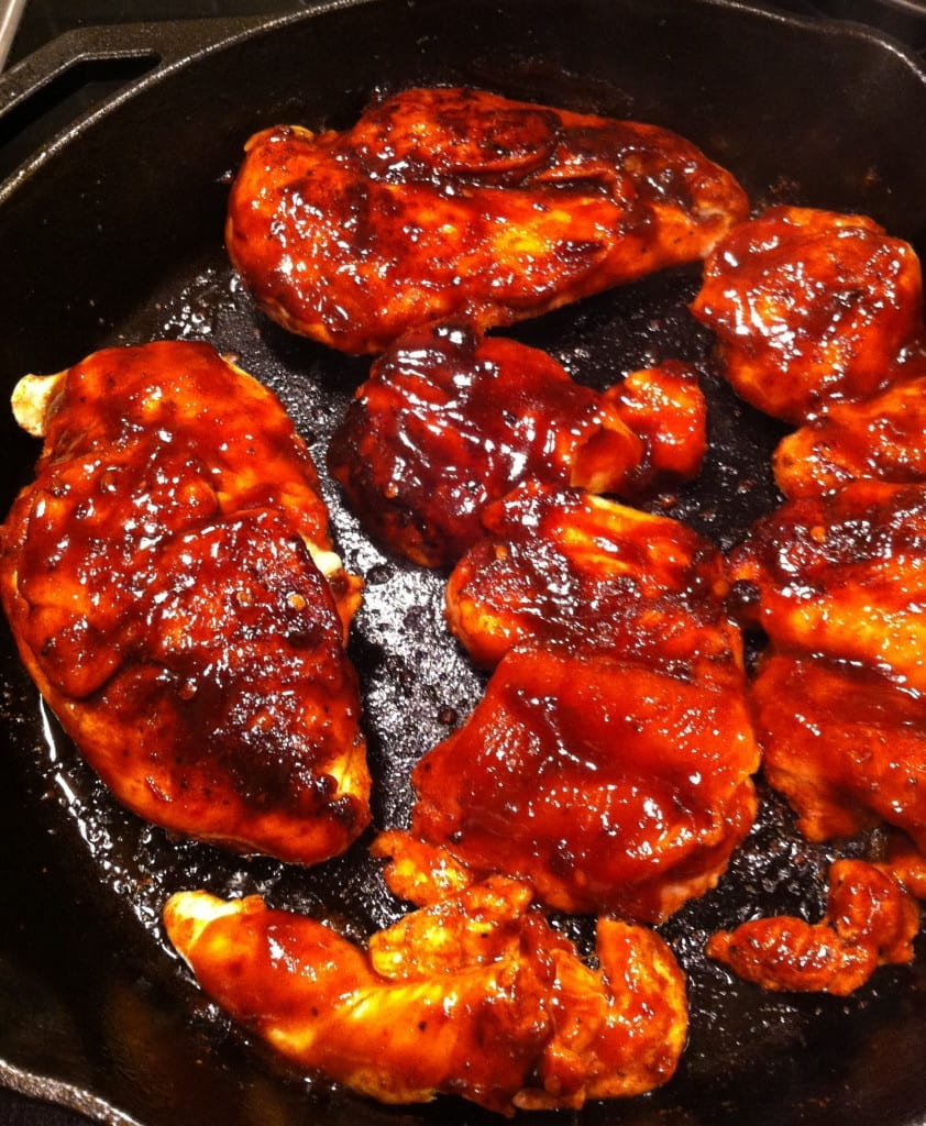 Maple & Chipotle Barbecued Chicken