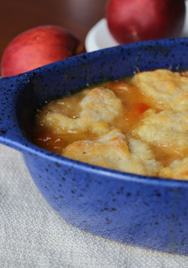 Old Fashioned Ozark Peach Cobbler