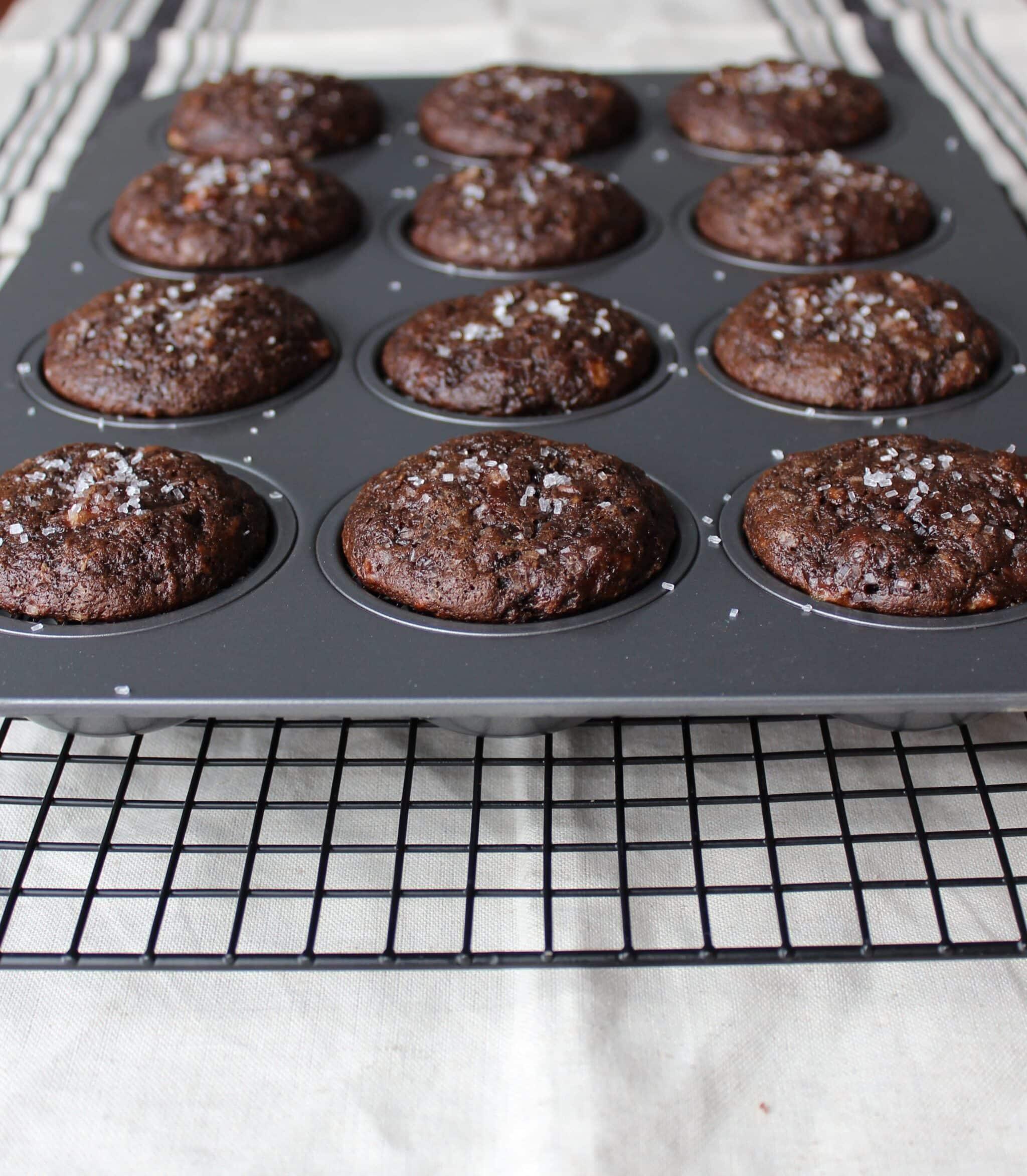 Double Chocolate Banana Muffins!