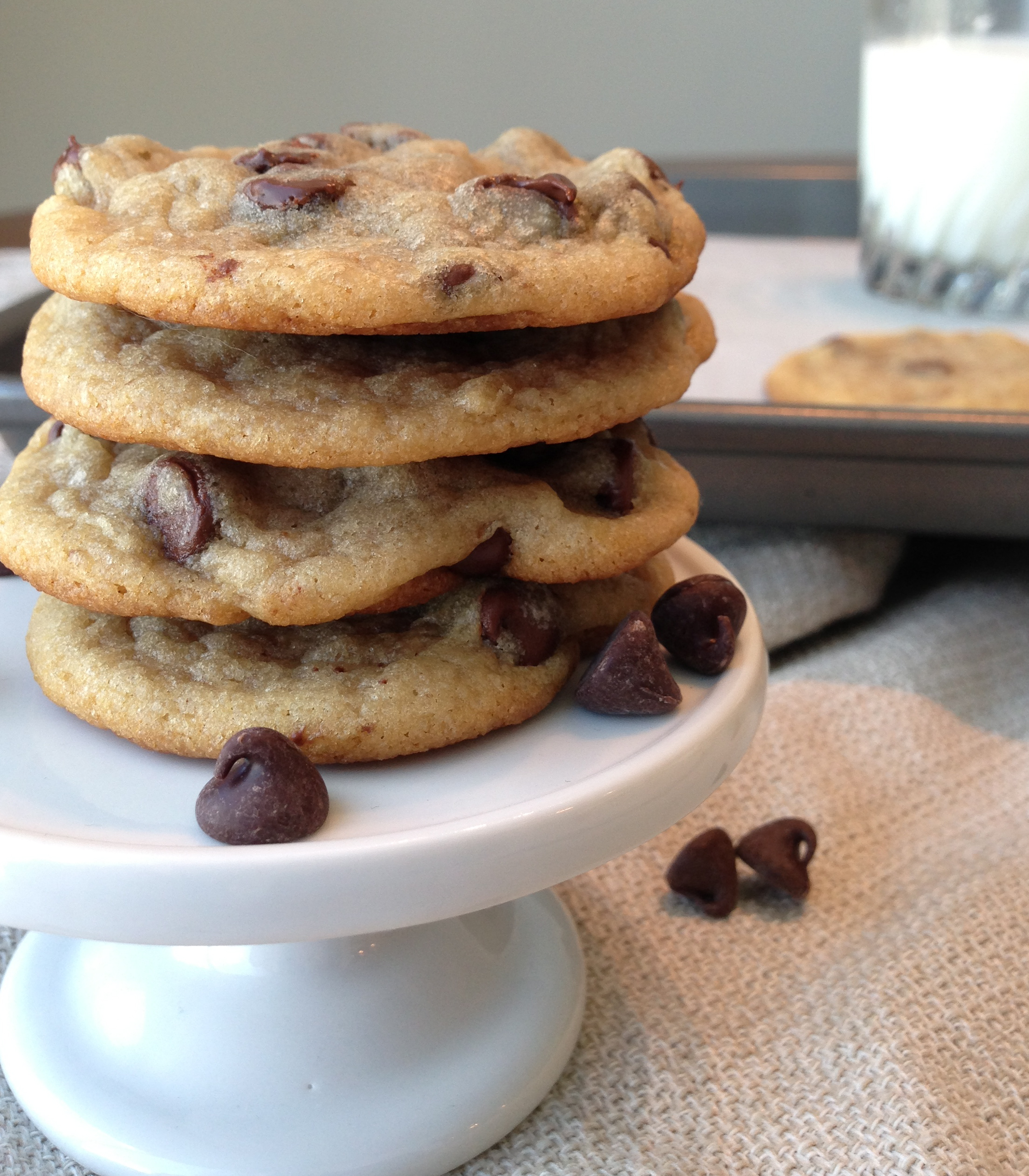 chewy chocolate chip cookies american heritage cooking. Black Bedroom Furniture Sets. Home Design Ideas