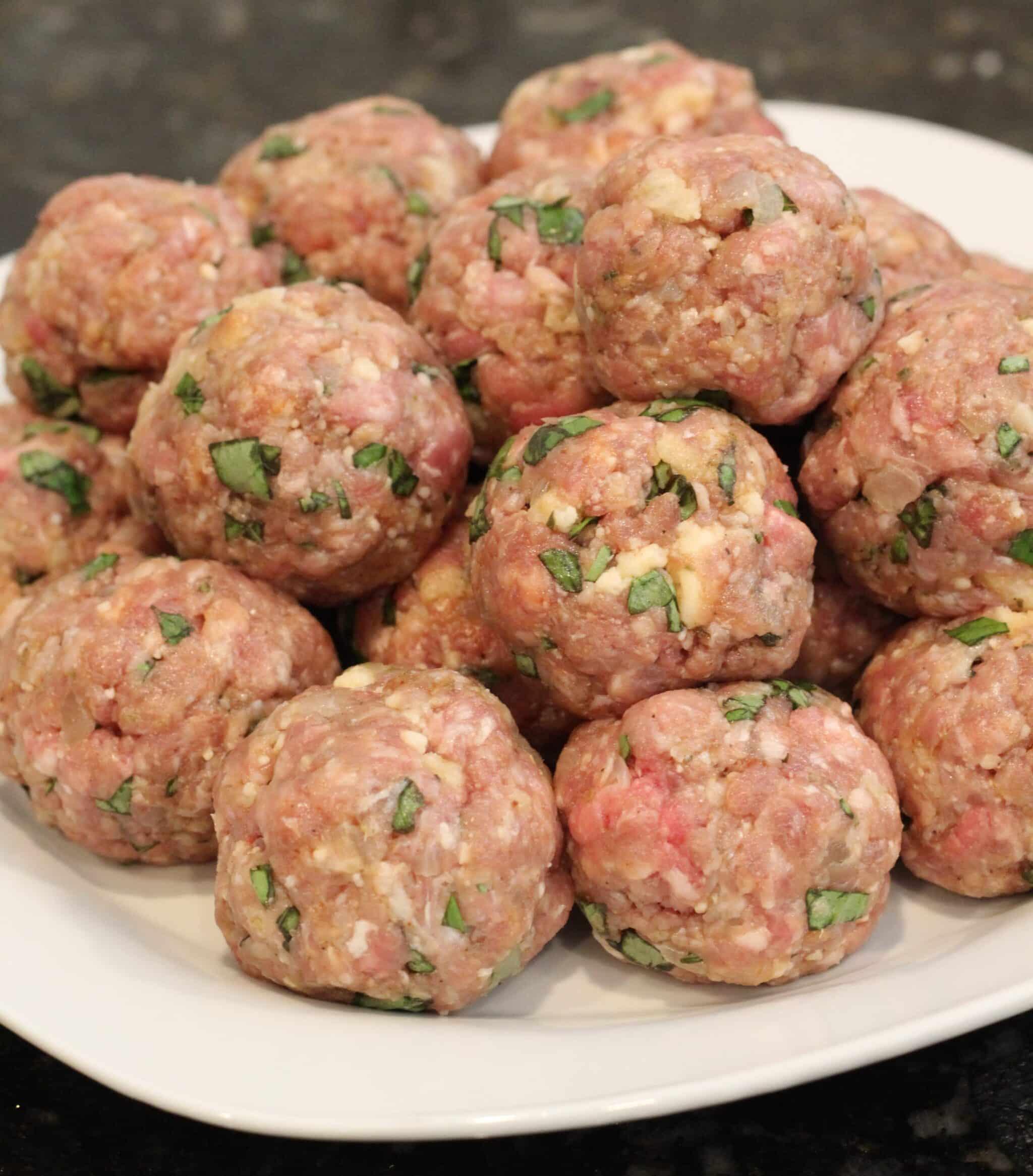 Real italian meatballs american heritage cooking