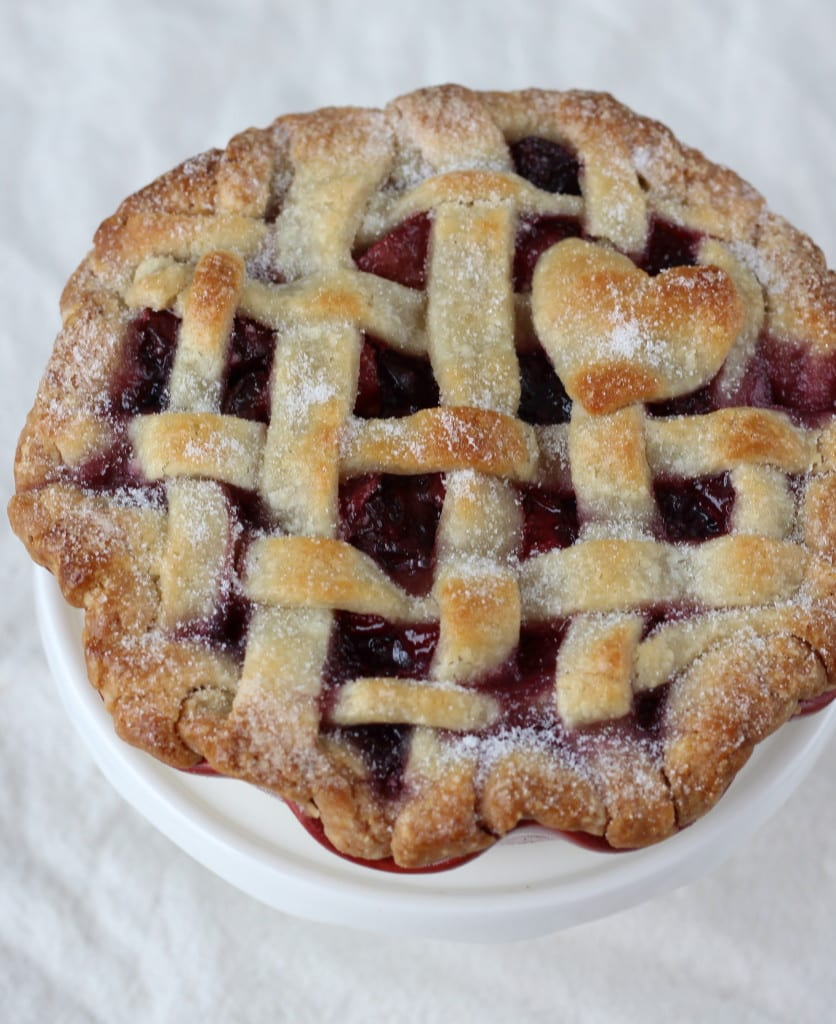 Cherry Pie in an Almond Crust