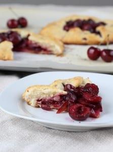 Cherry Galette with an Almond Buttermilk Crust