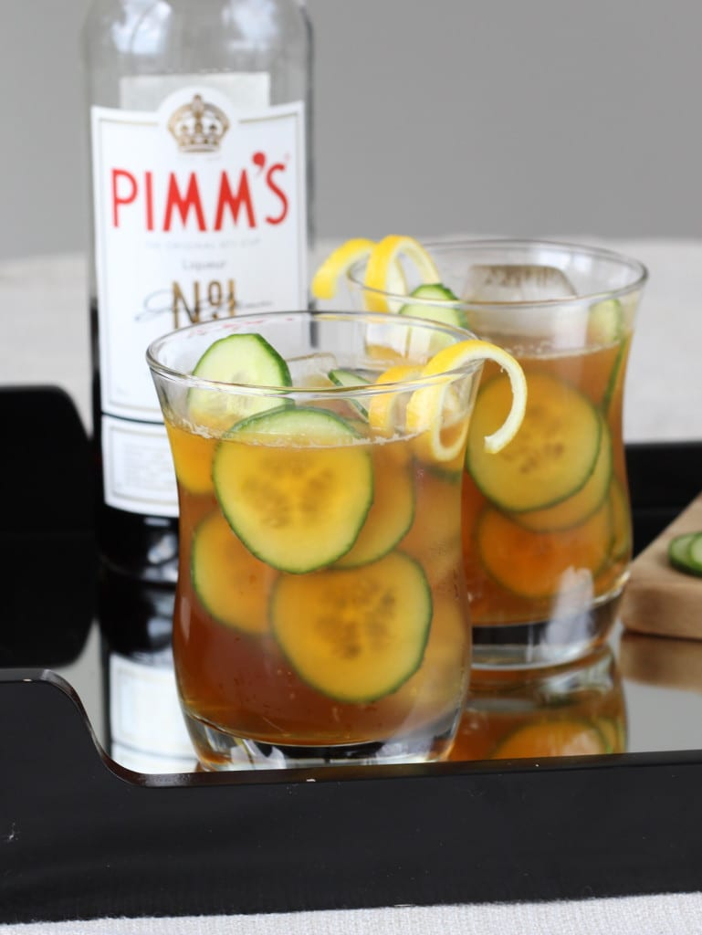 Pimms Cup - The most refreshing cocktail I've ever tried!