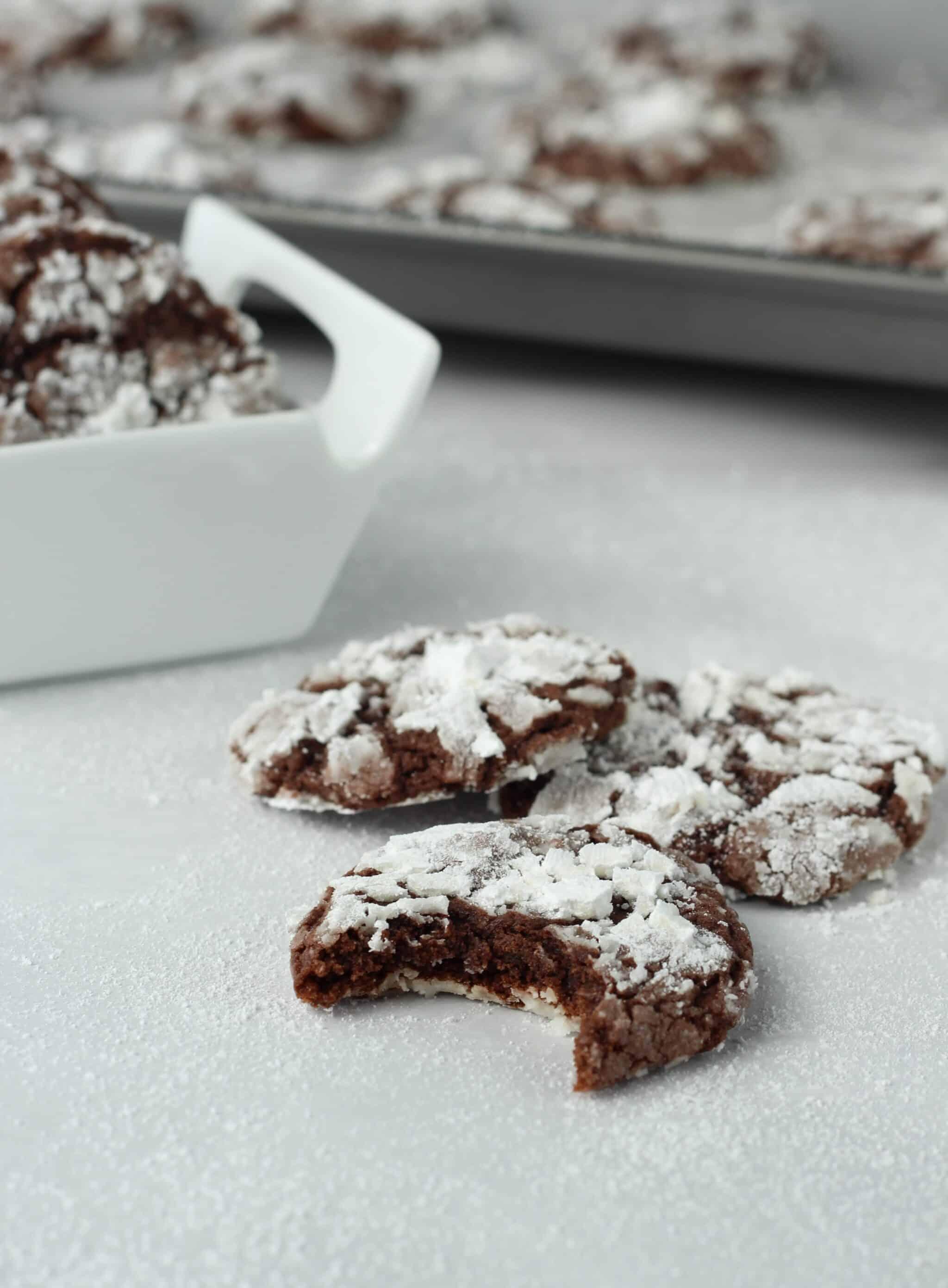 Chocolate Crackle Cookies - American Heritage Cooking