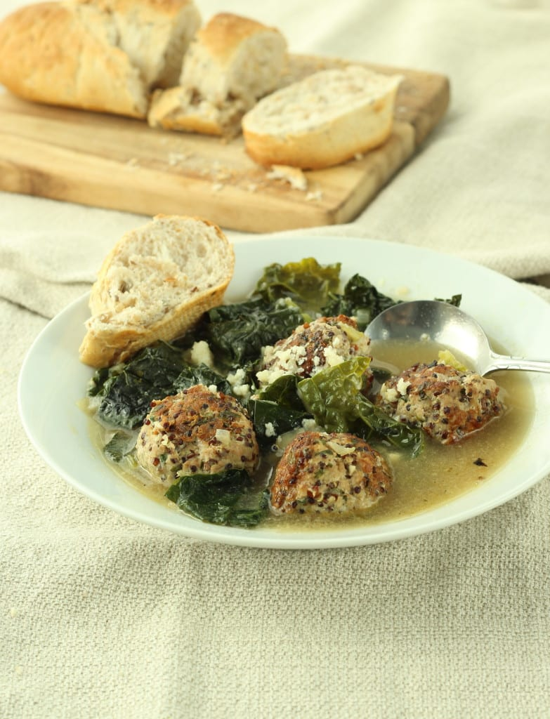 Turkey Meatball and Kale Soup - Cooking Light
