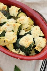 Baked Zucchini and Ricotta Casserole