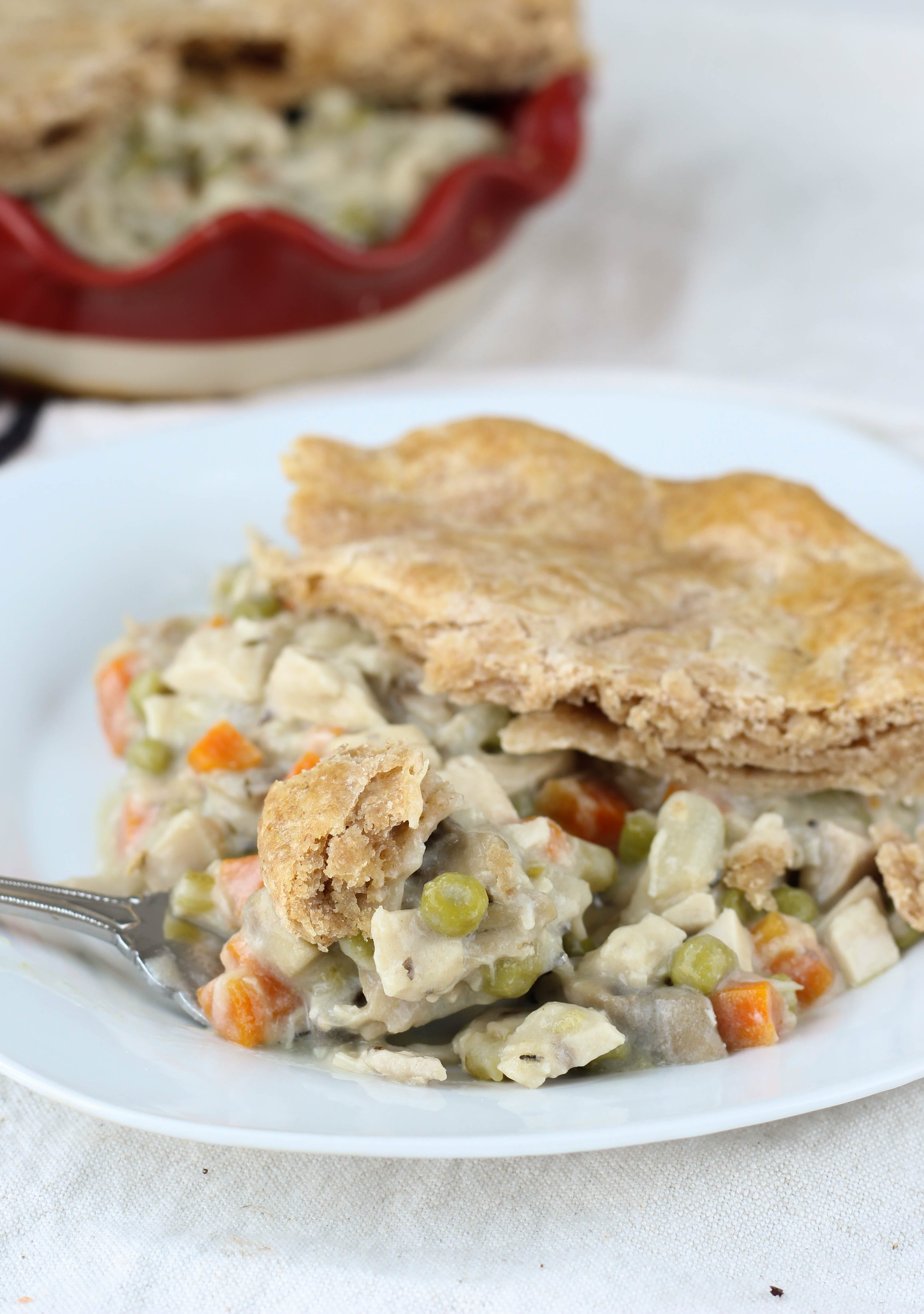 going to beat around the bush here: this is the BEST Chicken Pot Pie ...