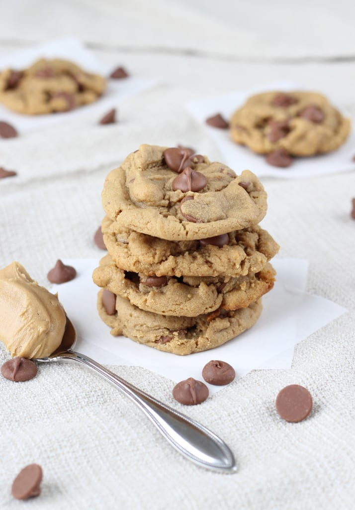 Chewy Peanut Butter Cup Cookies