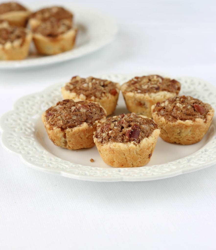 My Great-Grandmother Rosa's Pecan Tassies