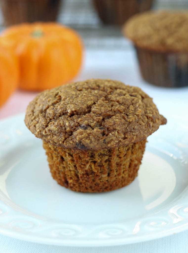Pumpkin Banana Bran Muffin
