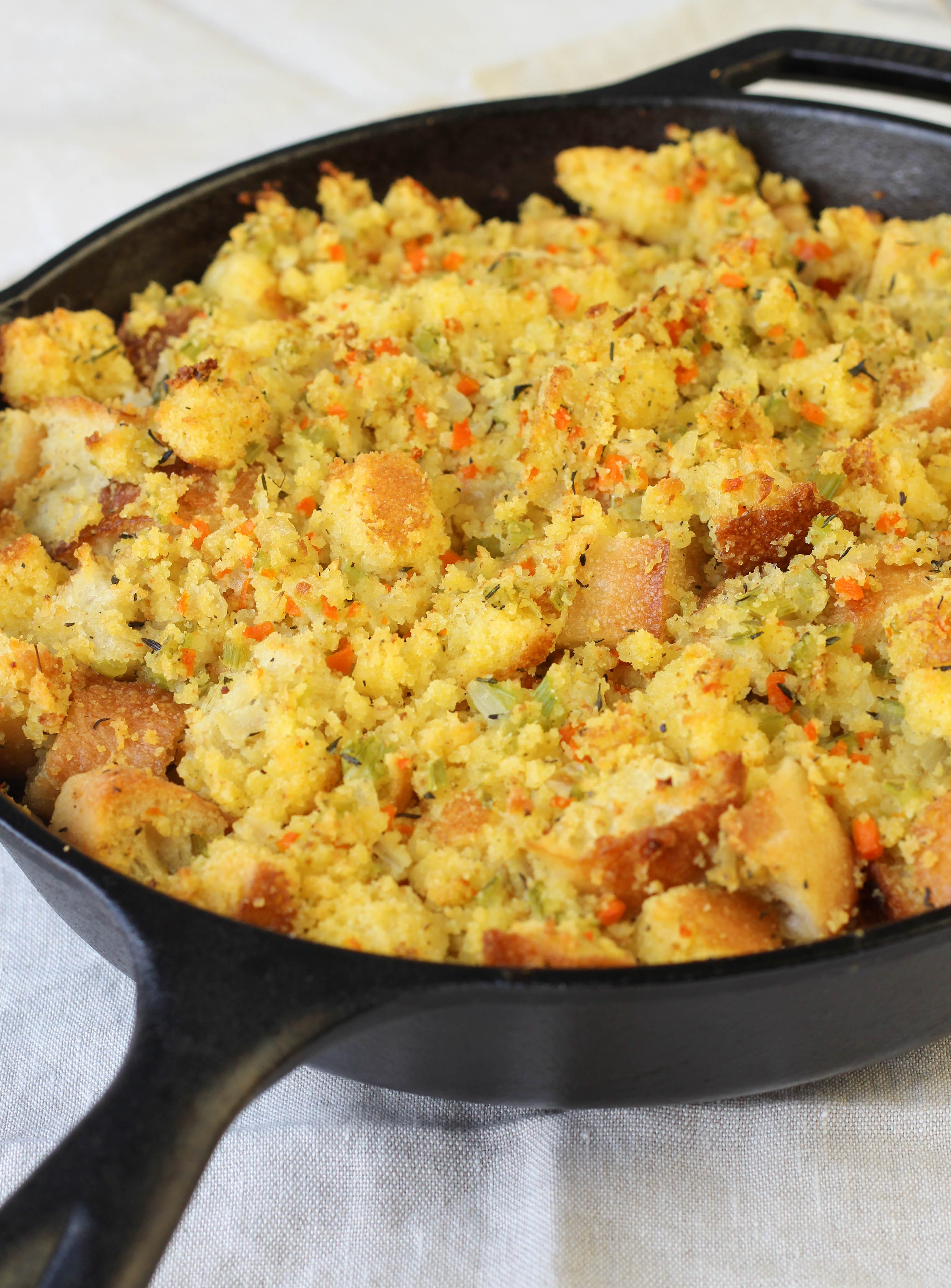Cornbread Stuffing Recipe — Dishmaps