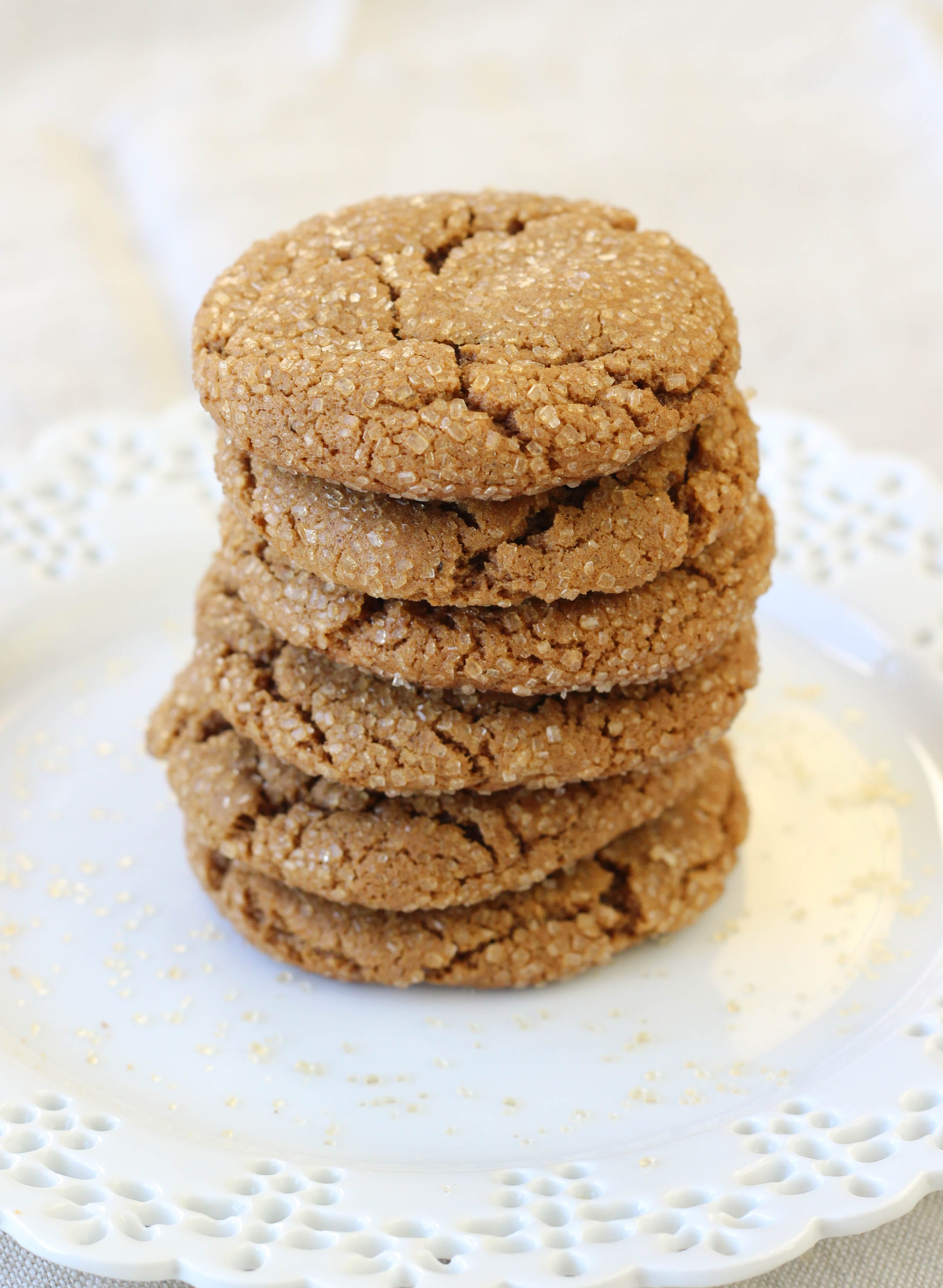 ... mood for Molasses Spice Cookies hit, who can resist? Not this one