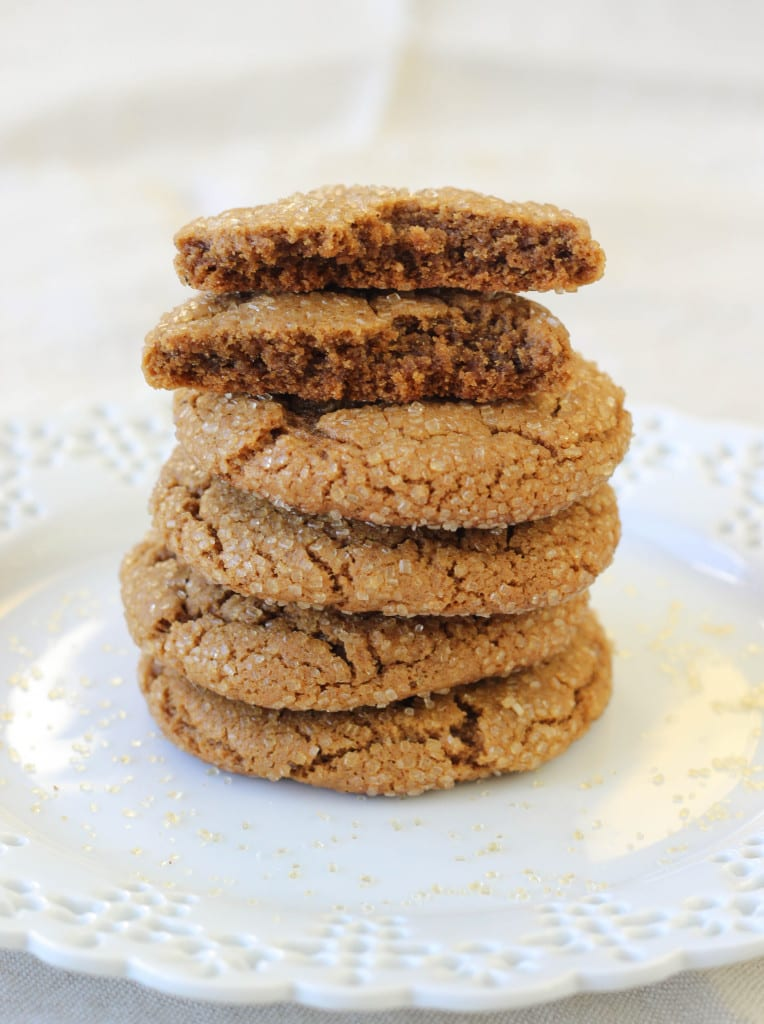 Spicy Molasses Cookies Recipe — Dishmaps