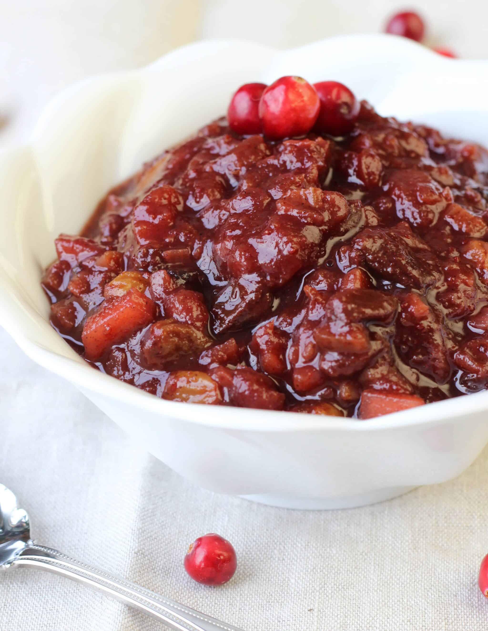 Nana's Cranberry Chutney
