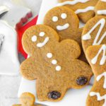 My Mom's Soft, Chewy Gingerbread Boys recipe!   It just wouldn't be Christmas without them!