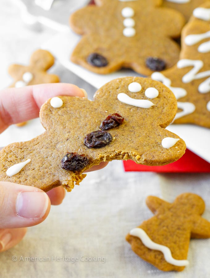 My Mom's Soft, Chewy Gingerbread Boys recipe! | It just wouldn't be Christmas without them!