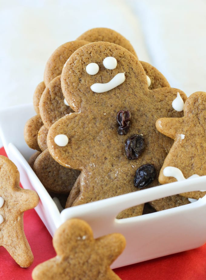 Soft, Chewy Gingerbread Boys