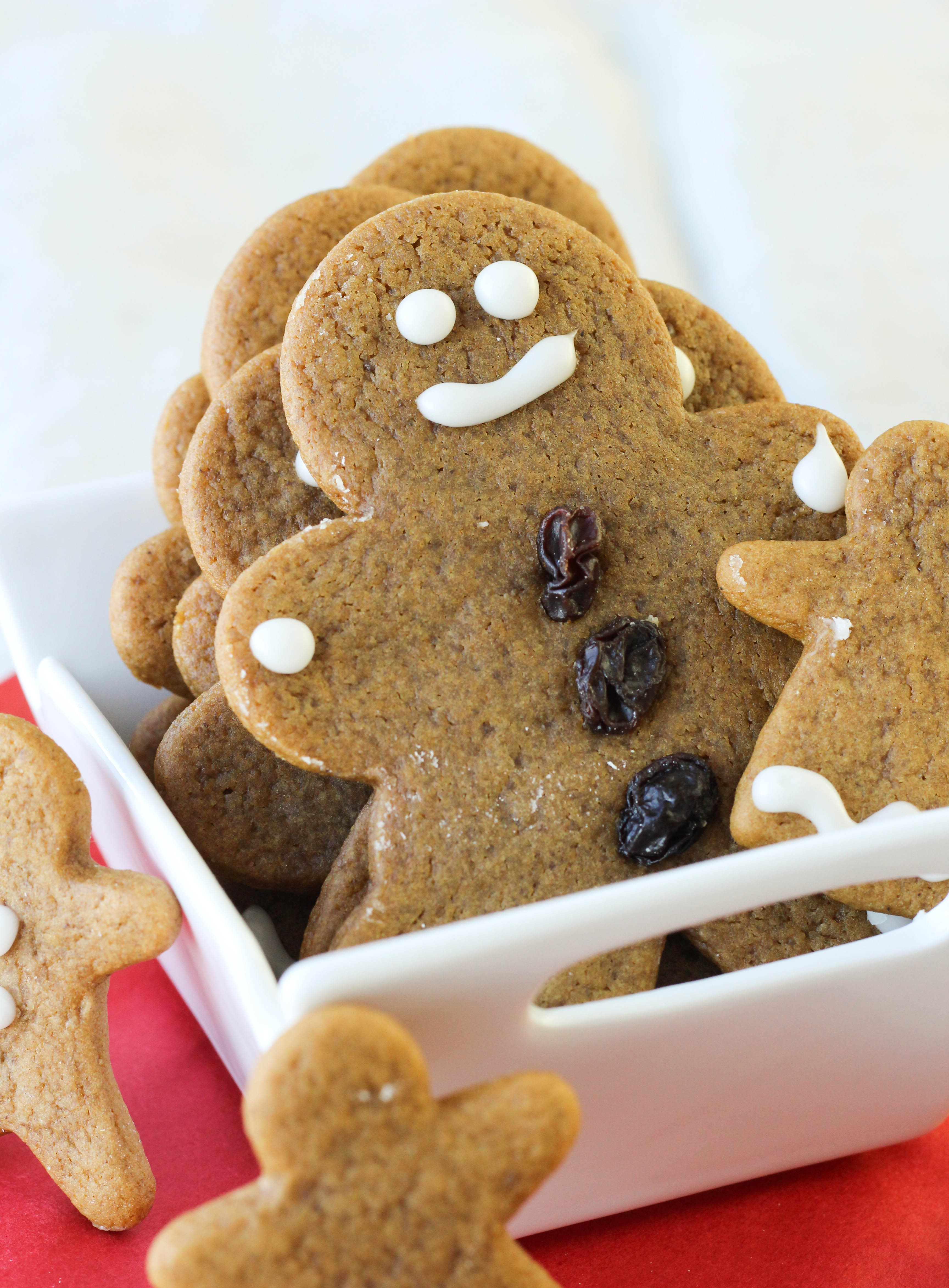 Soft, Chewy Gingerbread Boys – My Family Recipe