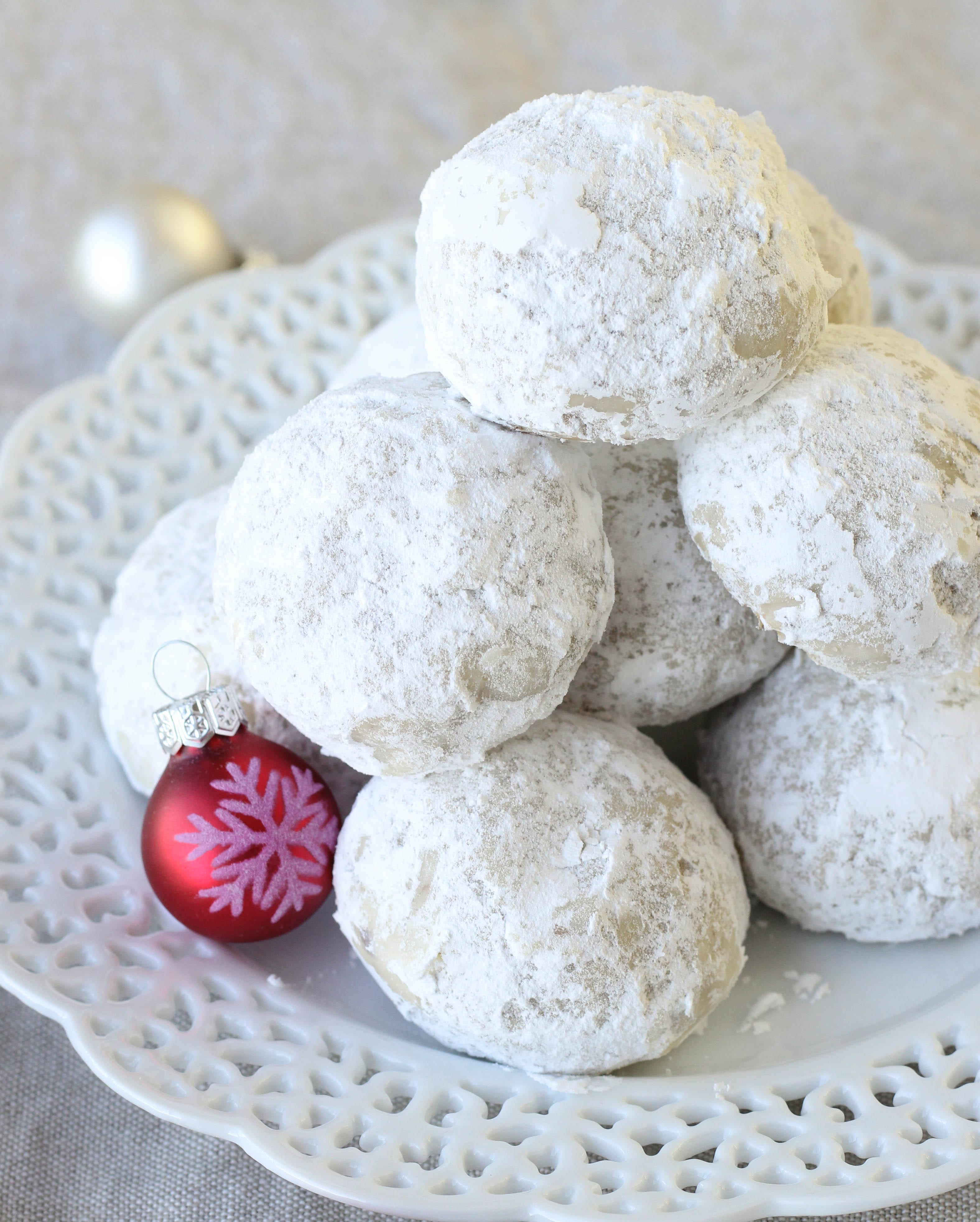 Pecan Snowball Cookies - American Heritage Cooking