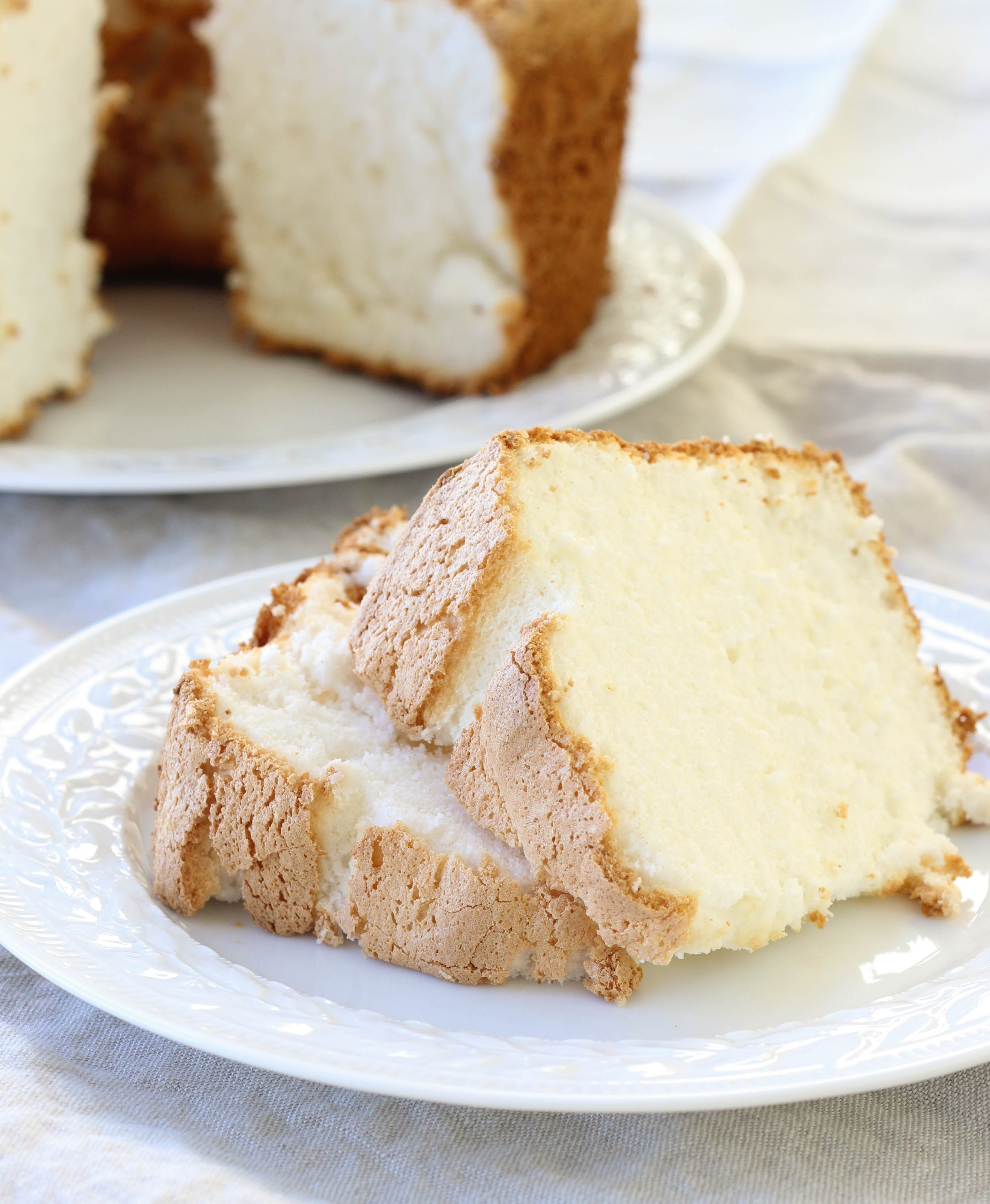 Is Angel Food Cake Fat Free