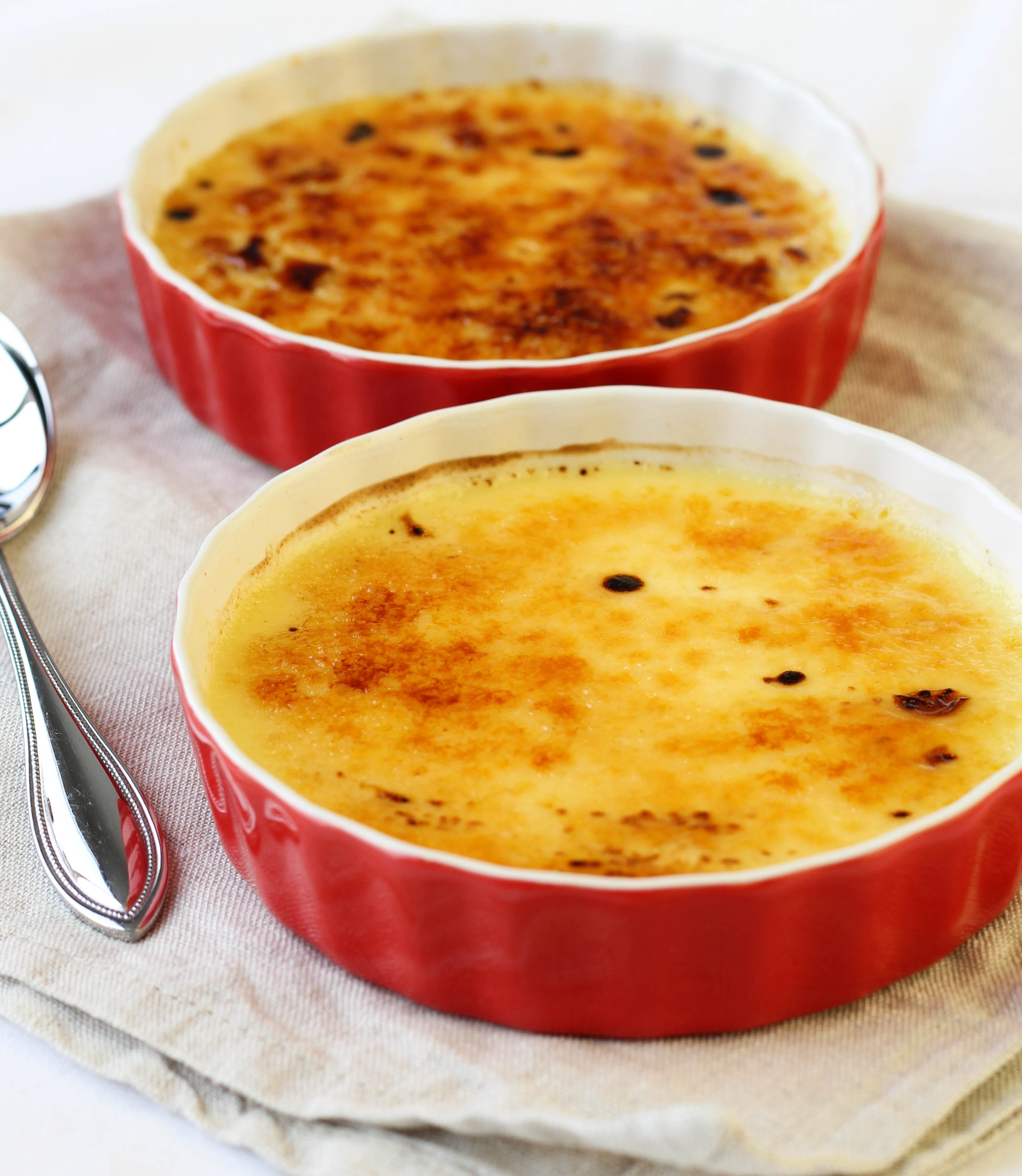 Crème Brûlée – Perfect Portion For Two! - American Heritage Cooking
