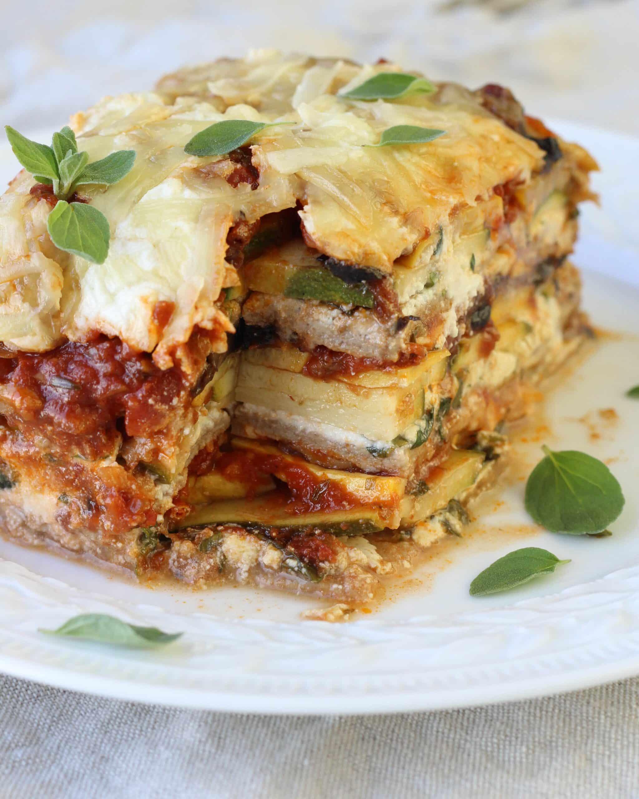 Whole Wheat Vegetable Lasagna