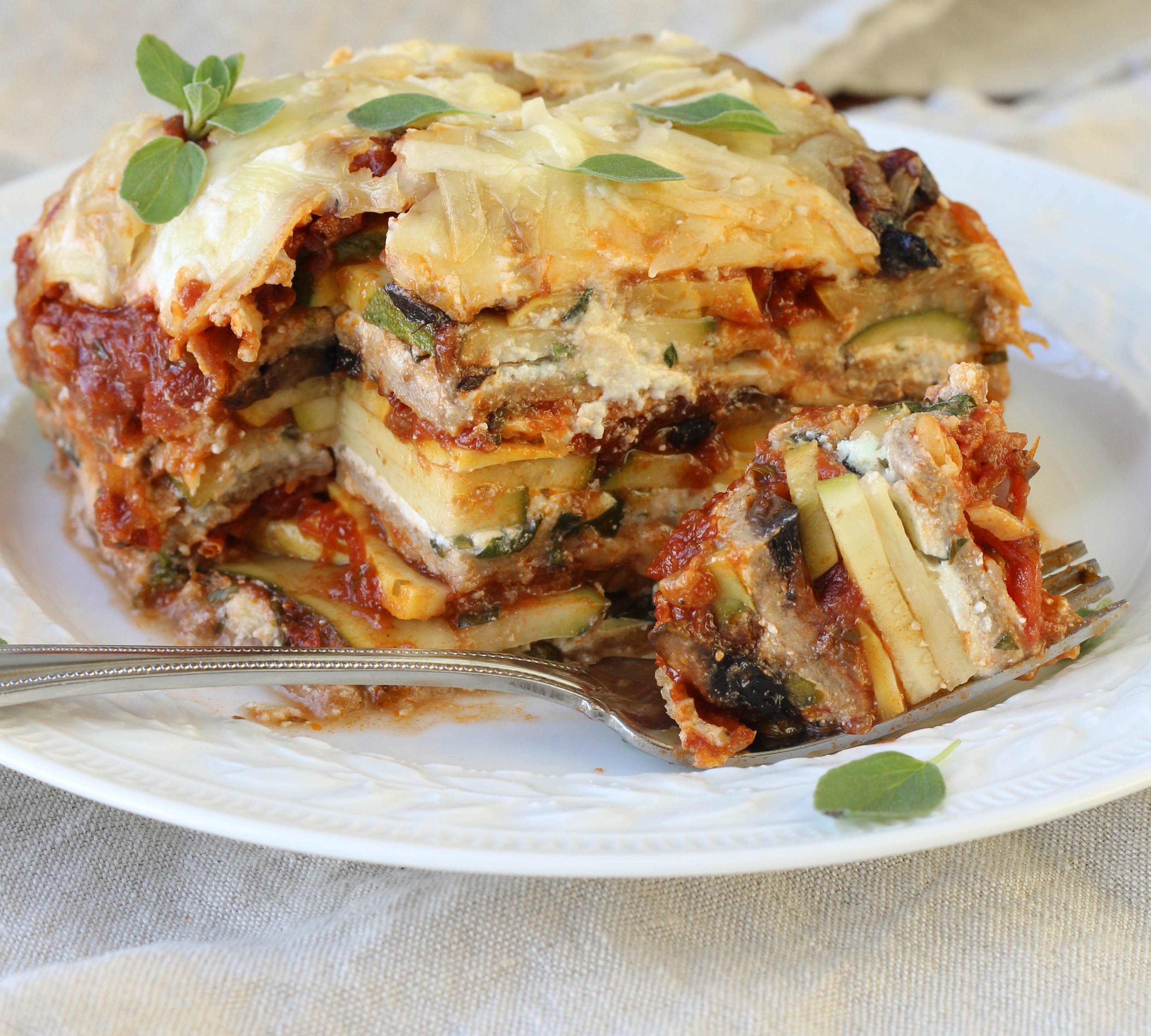 Whole-Wheat Vegetable Lasagna - American Heritage Cooking