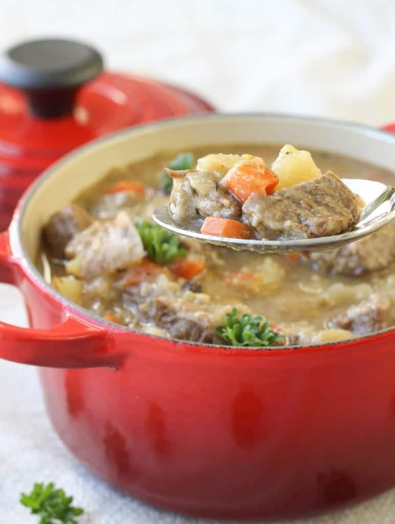 Heritage Beef-Vegetable Stew