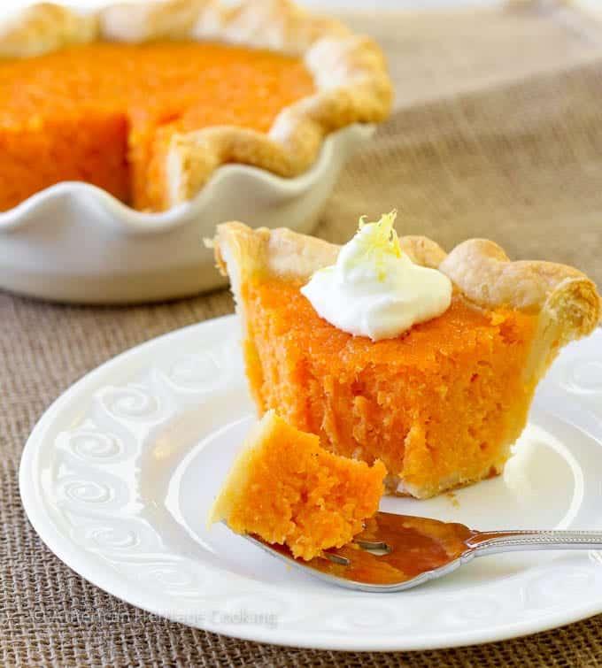 Mary Randolph S Sweet Potato Pie Chef Lindsey Farr