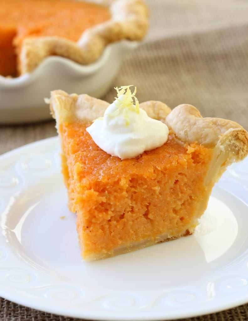 Mary Randolph's Sweet Potato Pie - American Heritage Cooking