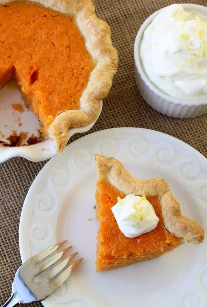 Mary Randolph's Sweet Potato Pie