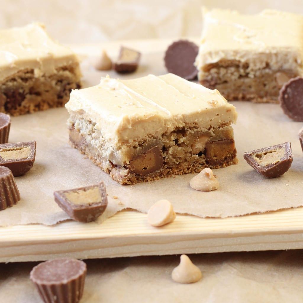 Reeses Peanut Butter Blondies