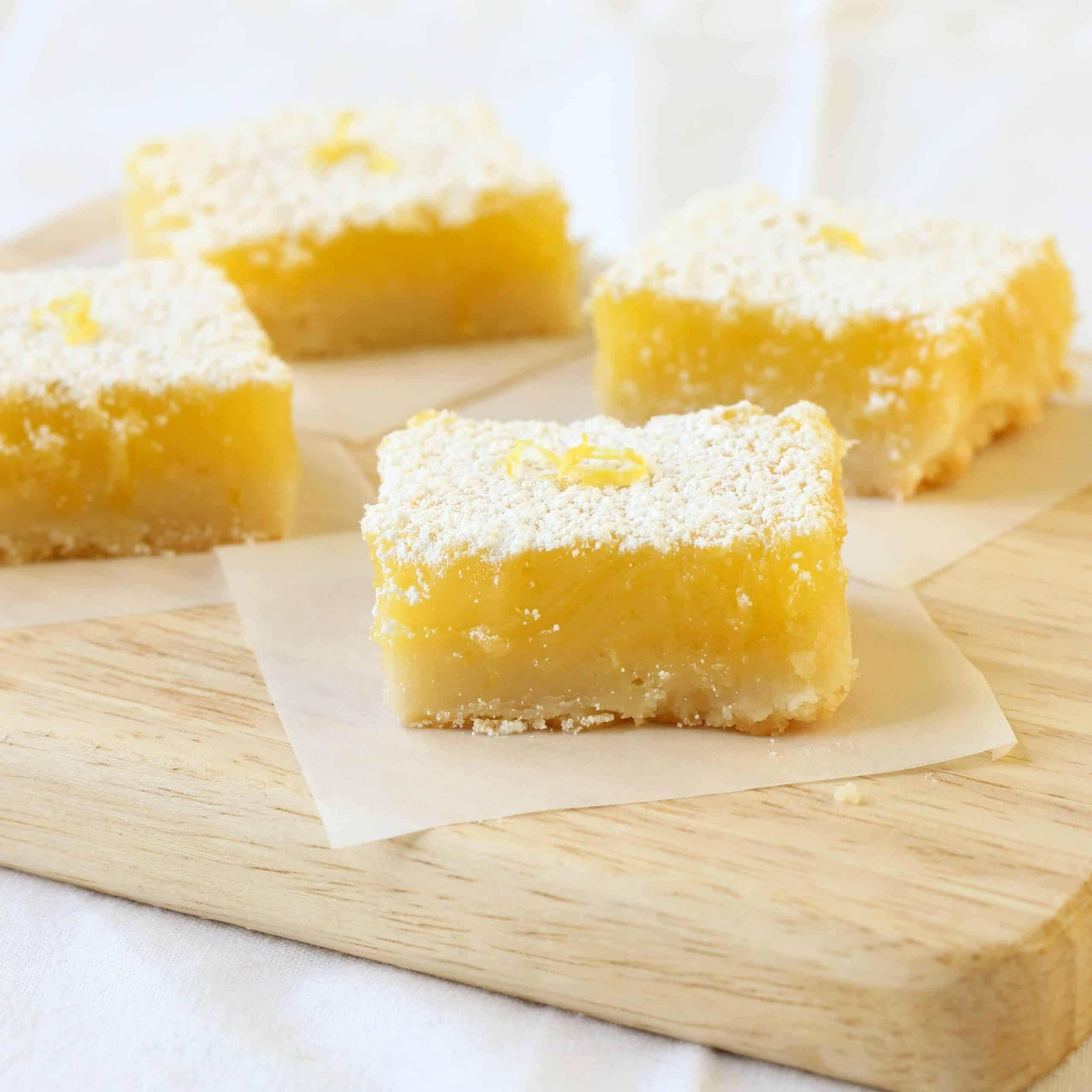 Sunshine Lemon Bars - American Heritage Cooking