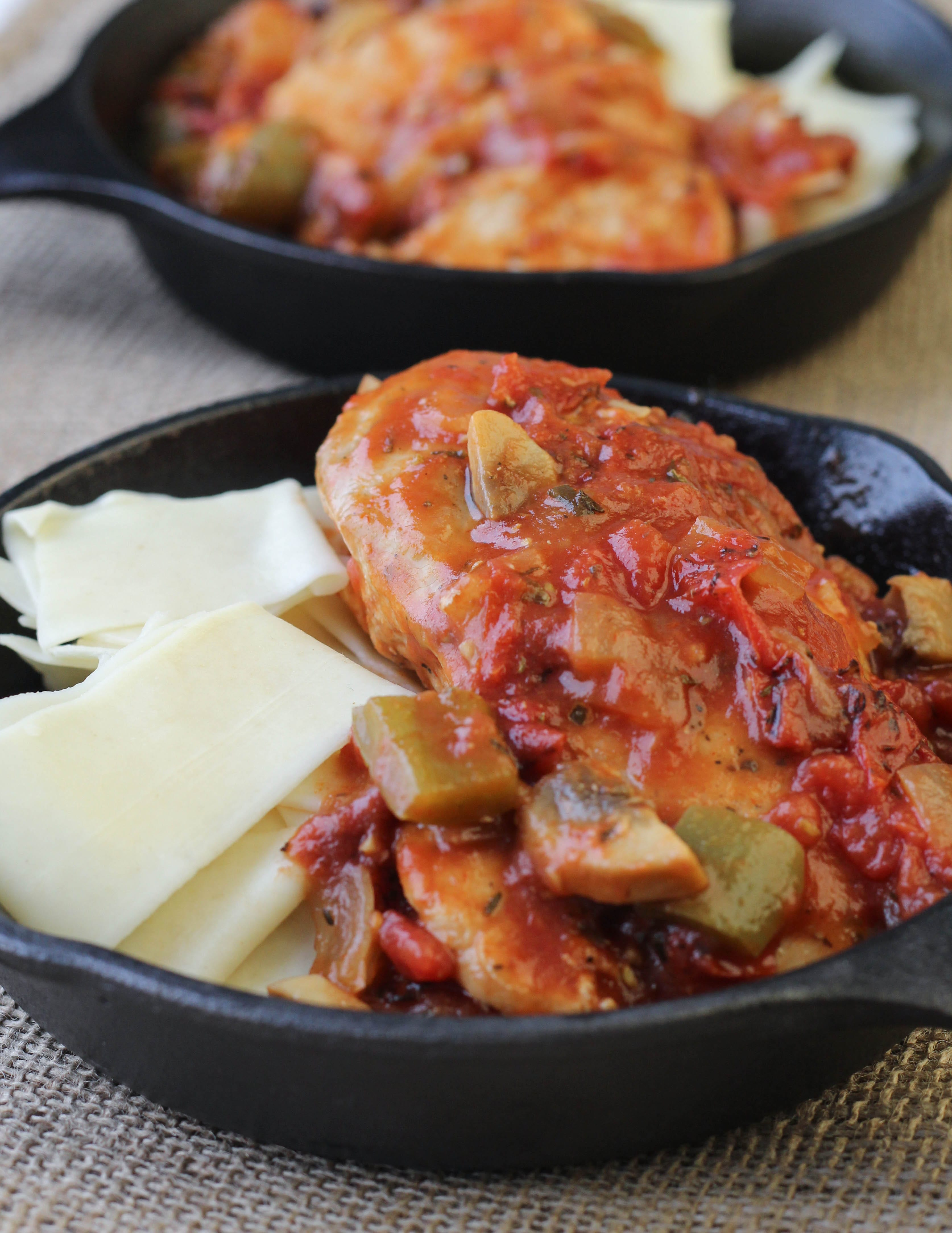 Tomato chicken bake american heritage cooking easy tomato chicken bake forumfinder Images