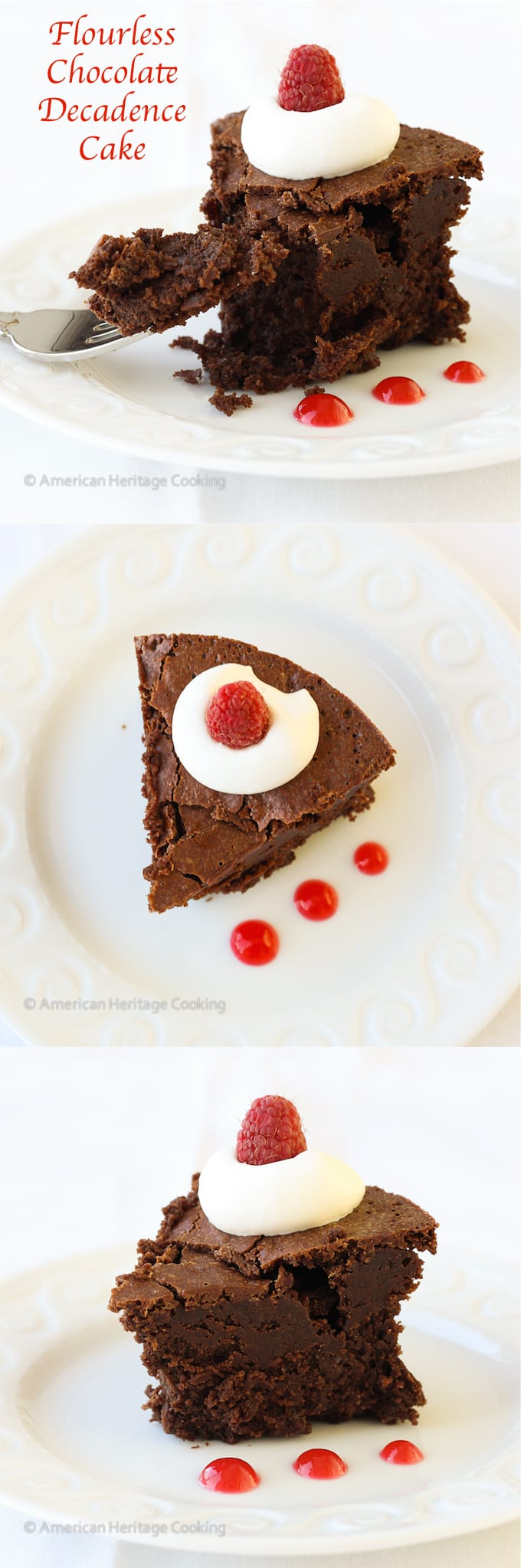Flourless Chocolate Decadence Cake