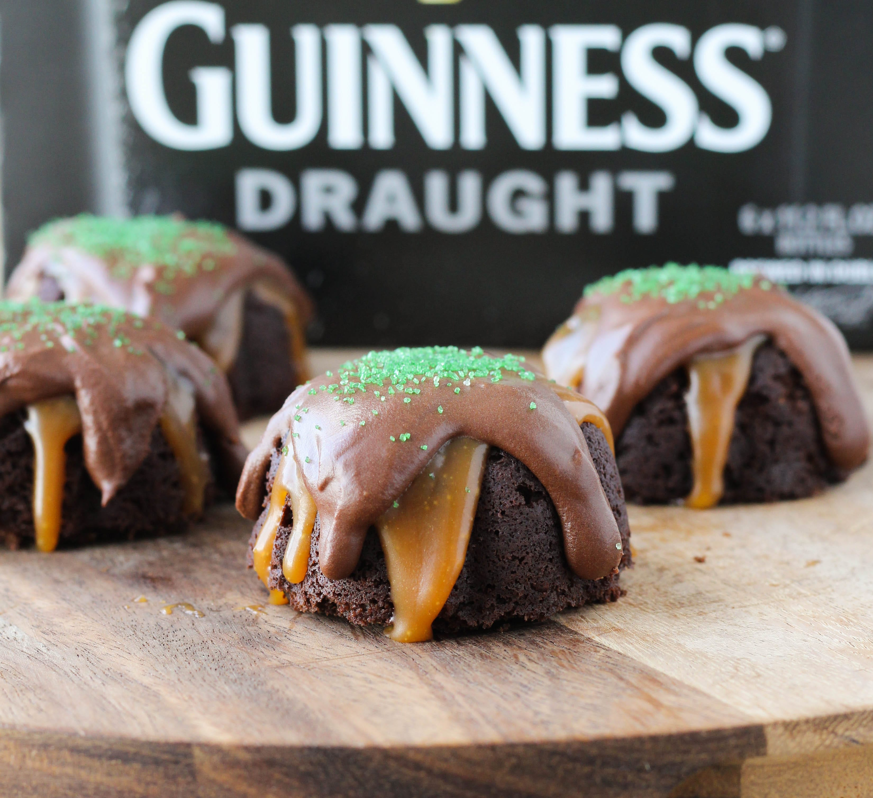 Guinness Chocolate Cake with Caramel and Guinness Ganache