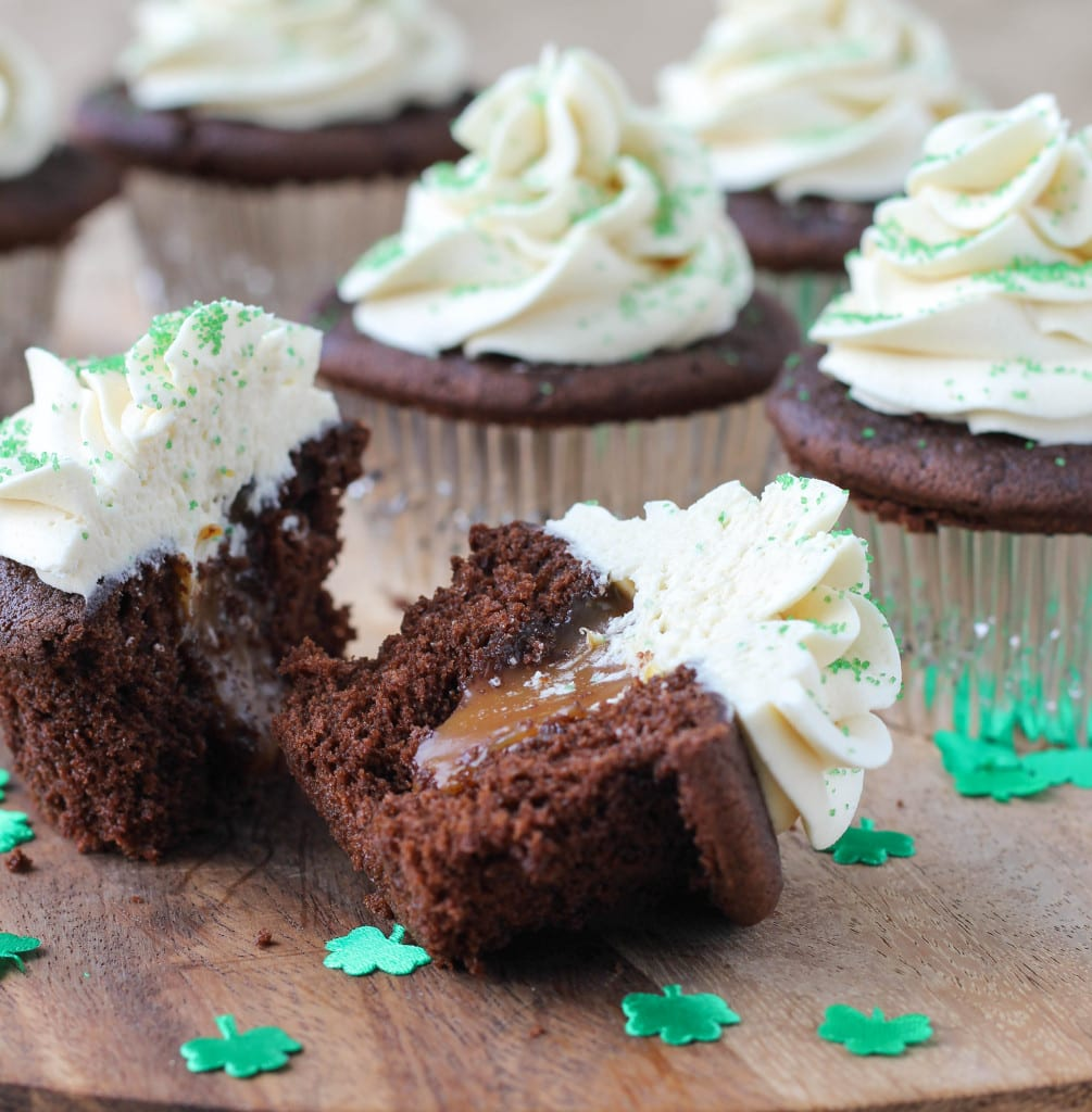 Guinness Chocolate Cupcakes With Bailey S Butter Cream And