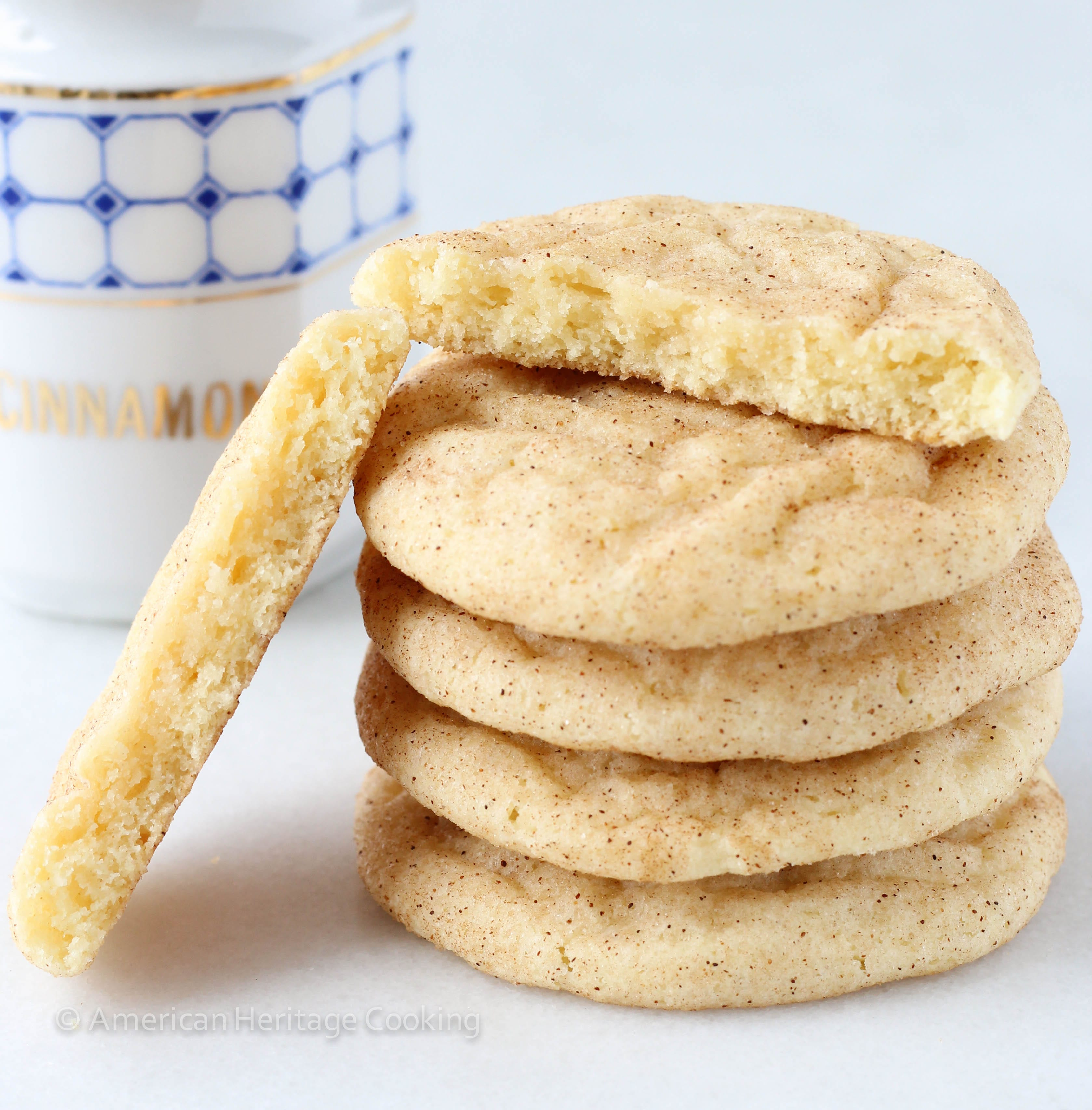 ... worth talking about. And these Snickerdoodles are perfection