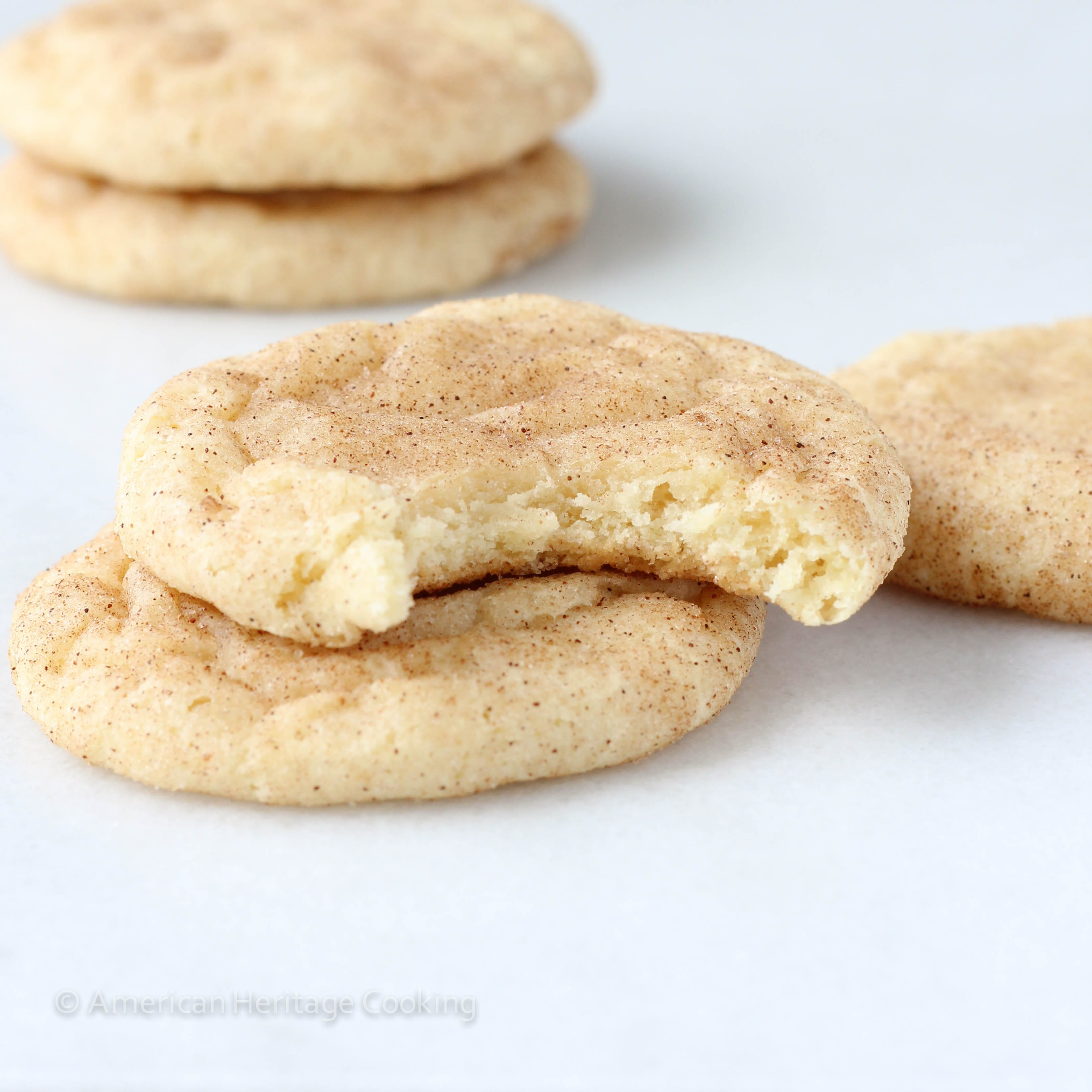 Snickerdoodles originated in New England and differentiate themselves ...