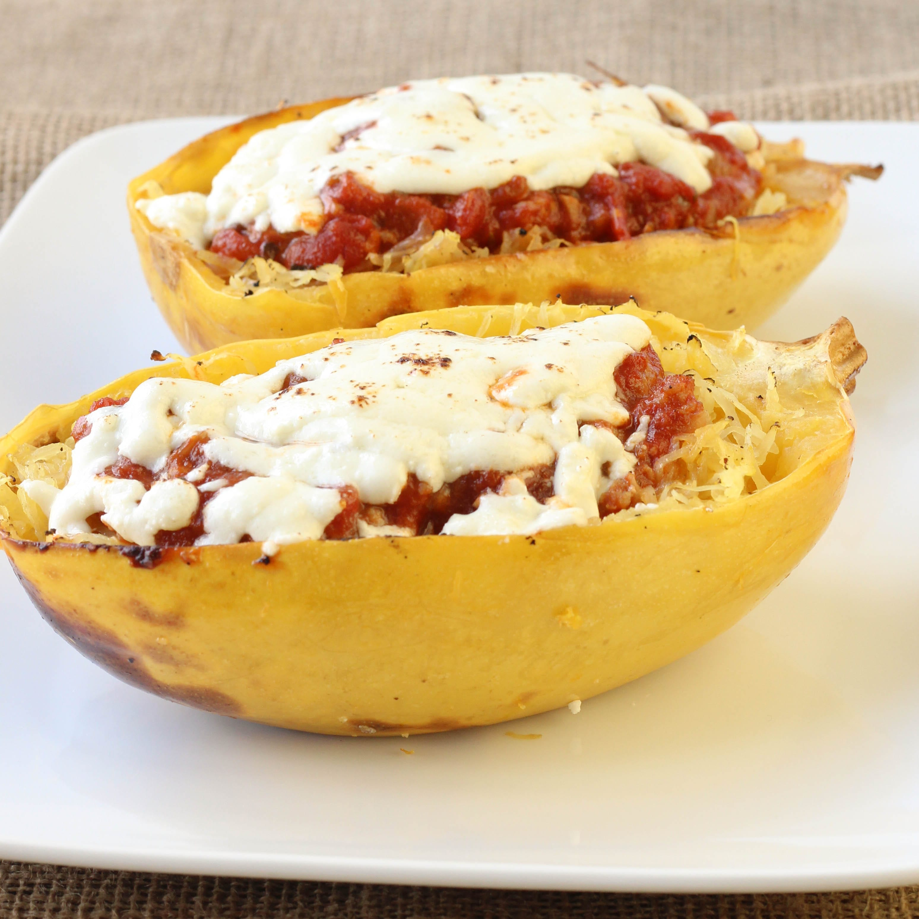 [baked spaghetti squash] - 28 images - how to cook ...