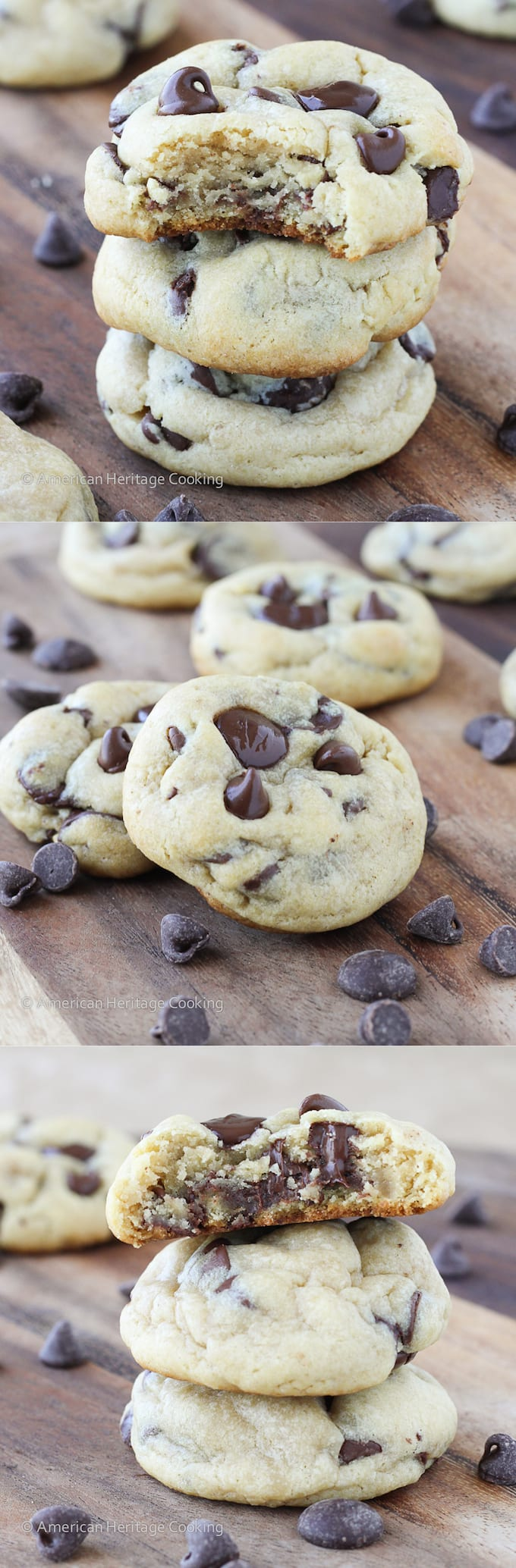 American chocolate chips cookies recipes