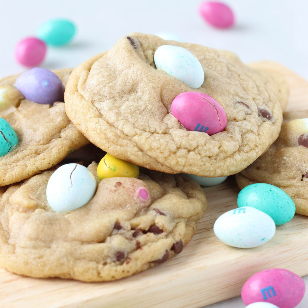 Peanut Butter M&M Chocolate Chip Cookies