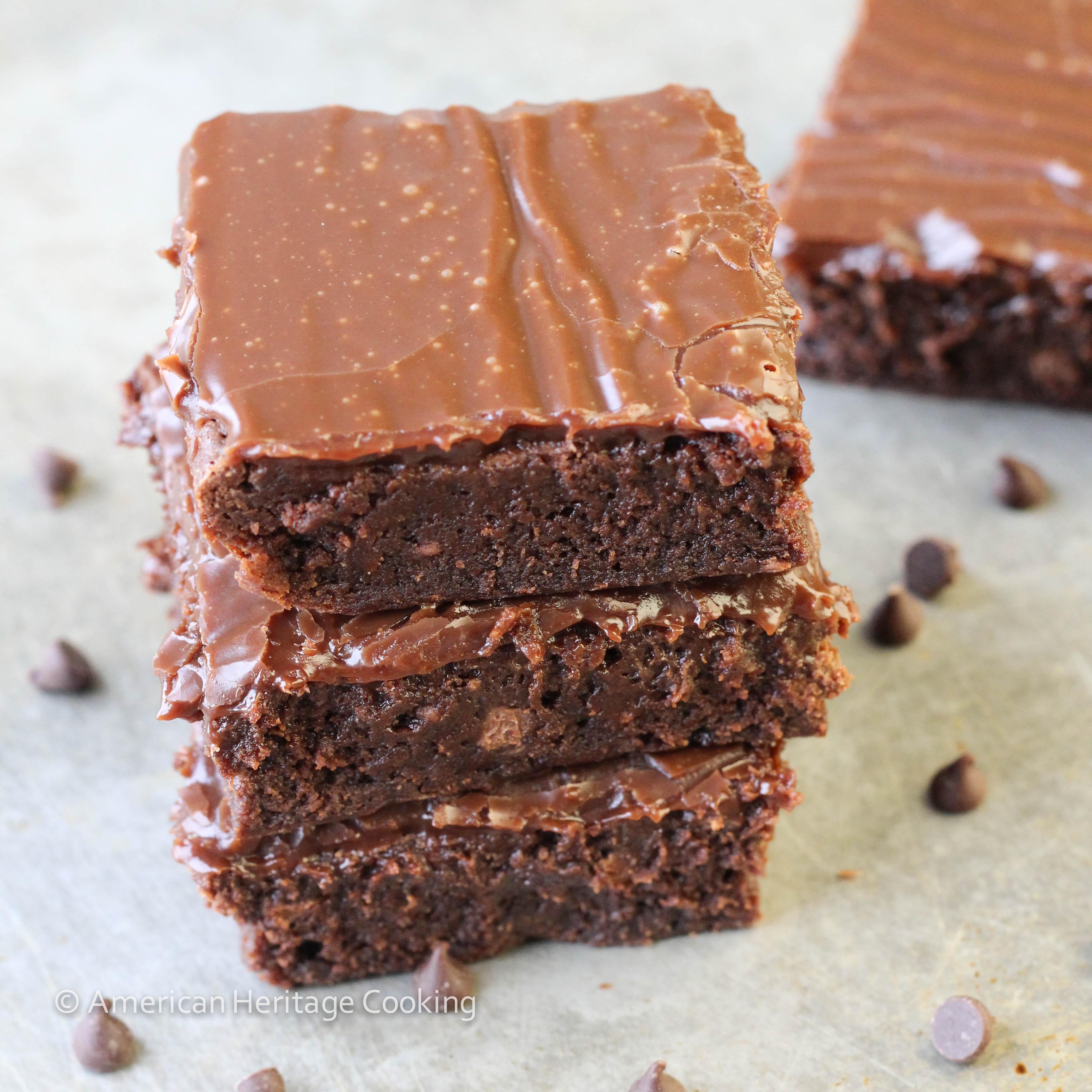 Milk Chocolate Brownie Explosion - American Heritage Cooking