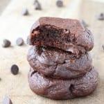 Quadruple Chocolate Pudding Cookies