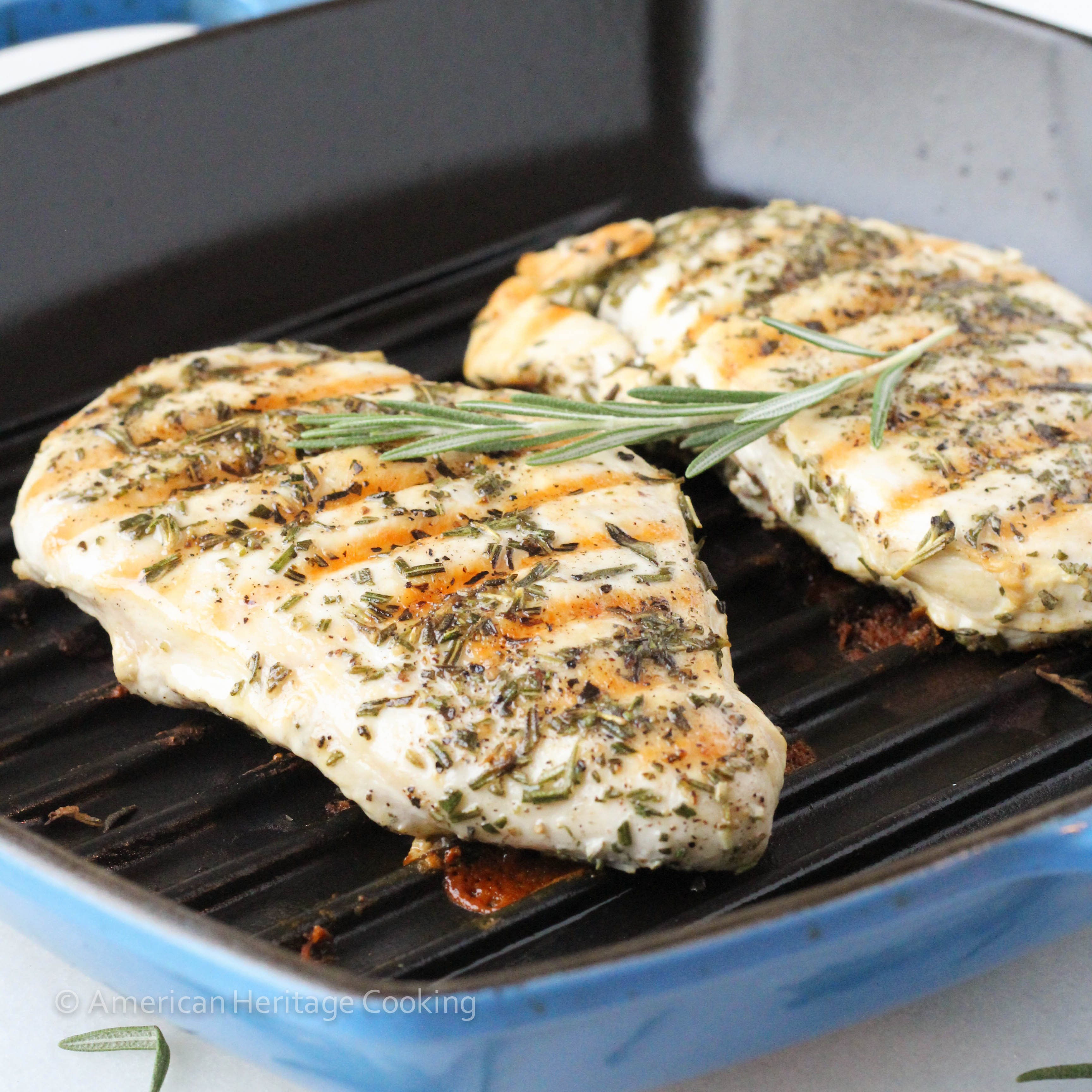admit that there is nothing sexy about these Grilled Rosemary Chicken ...